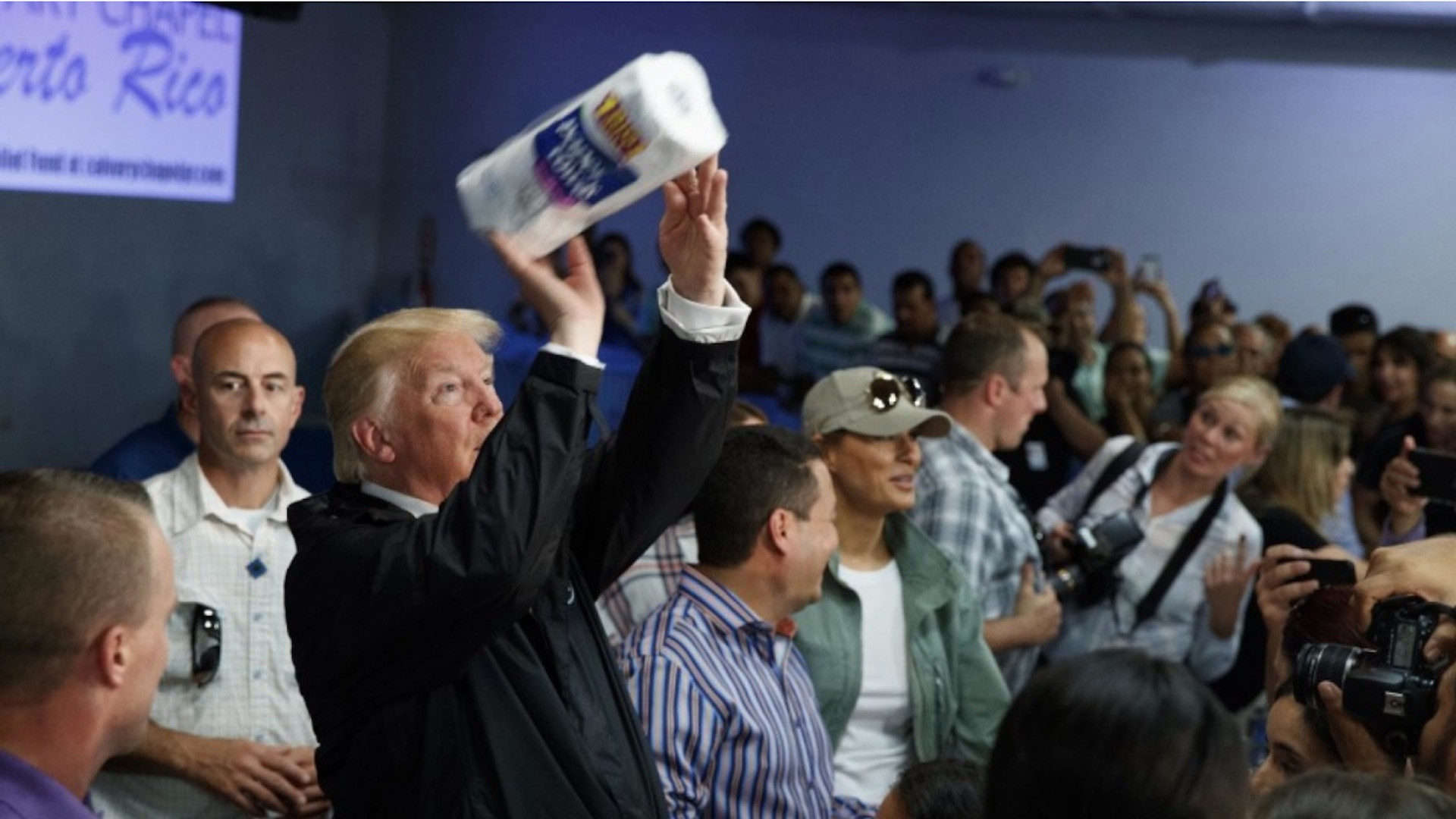 'It totally belittled the moment': Many look back in dismay at Trump's tossing of paper towels in Puerto Rico