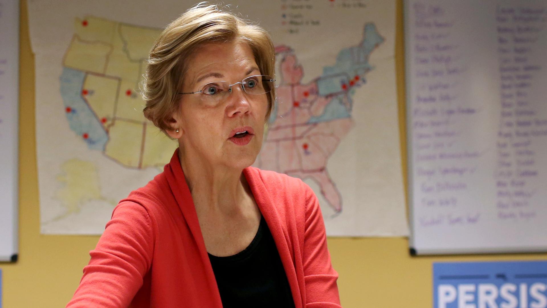 Canned crab? Elizabeth Warren is unfit to lead.