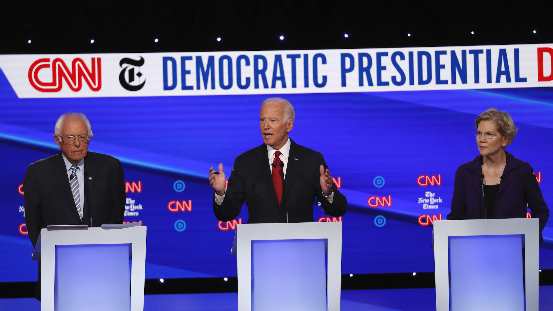 What you missed while not watching last night's Democratic presidential debate