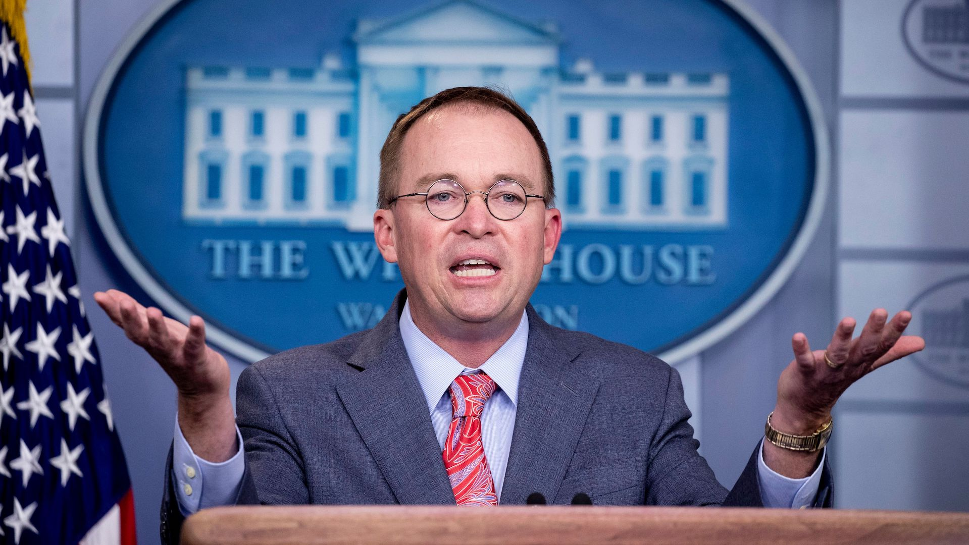 After saying Trump held back aid to pressure Ukraine, Mulvaney tries to walk back comments