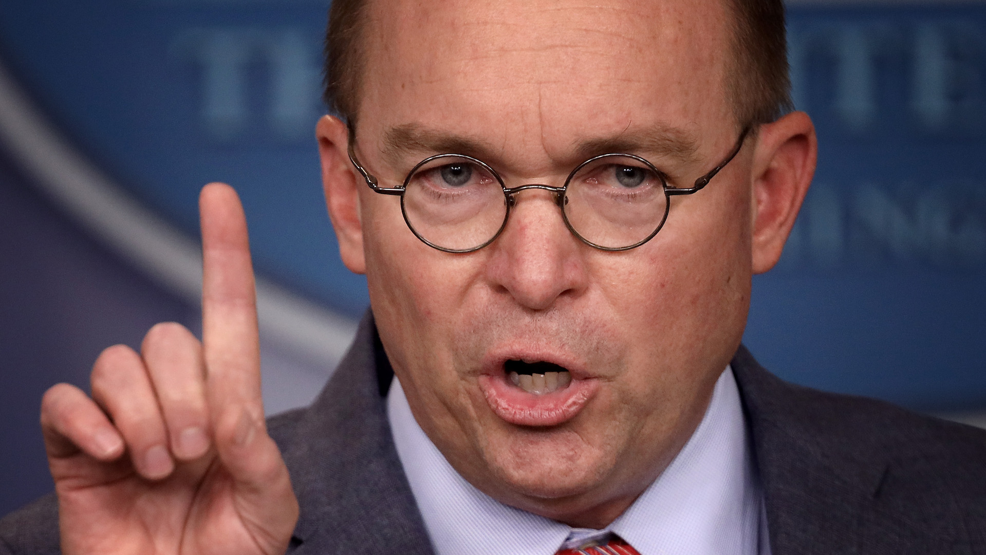 In admitting then denying quid pro quo, Mulvaney turns harsh impeachment spotlight on himself