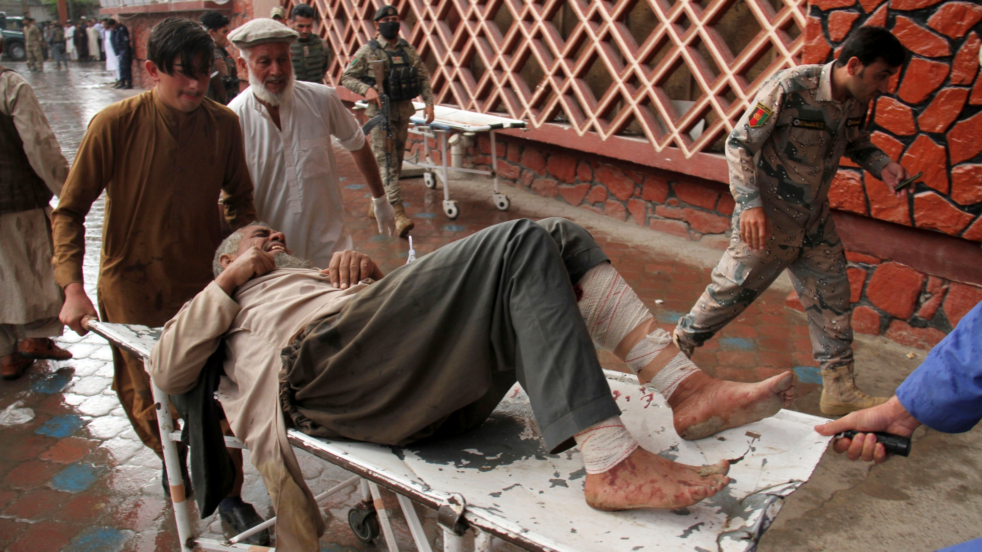 62 killed in mosque bombing in eastern Afghanistan