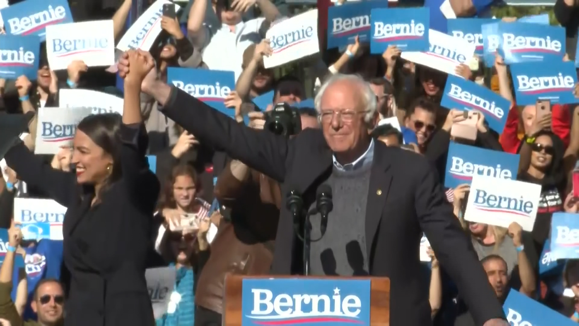 Sanders returns to the trail with a major rally: 'To put it bluntly, I am back'