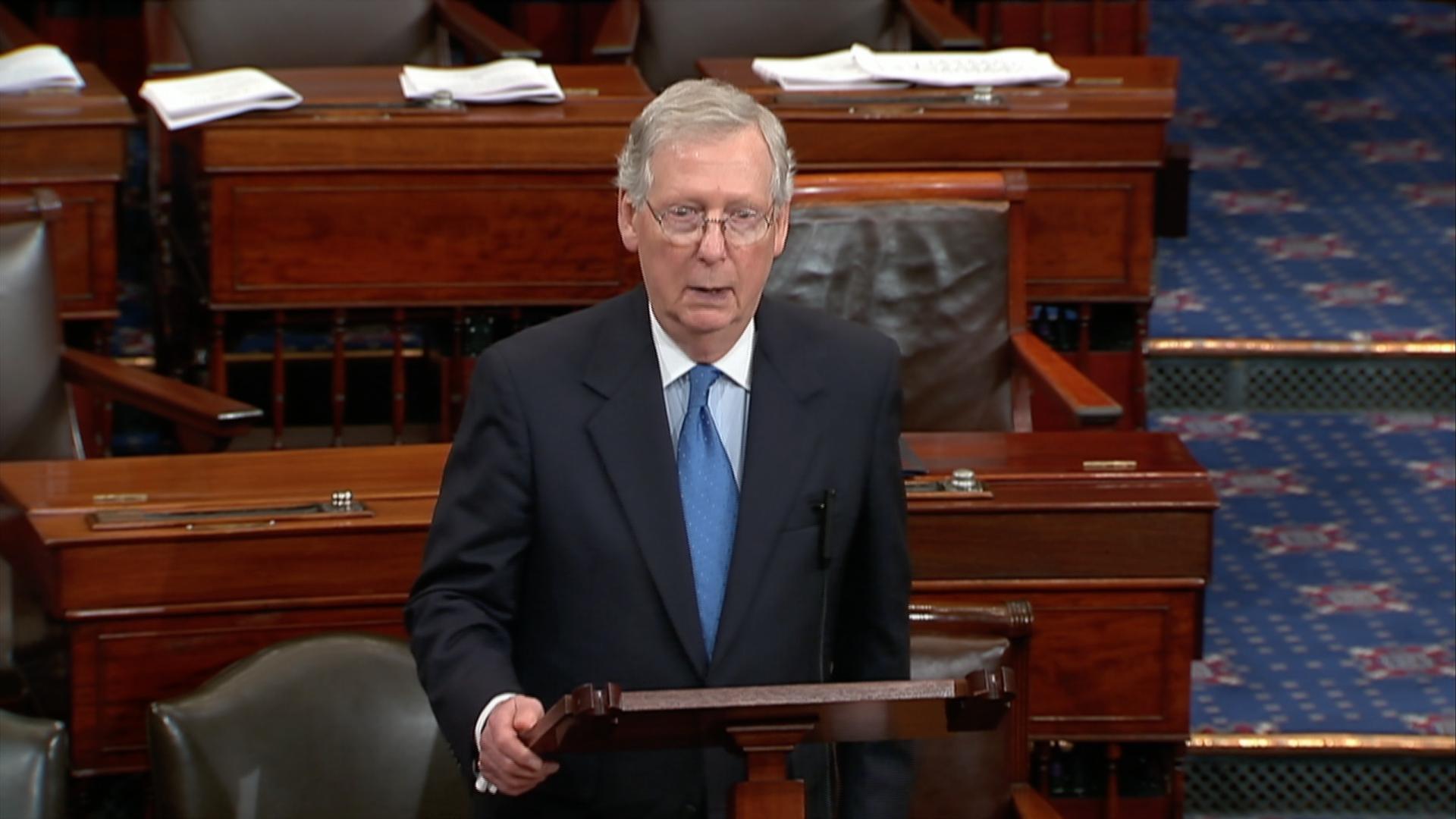 Senate approves budget in crucial step forward for Republican tax cuts