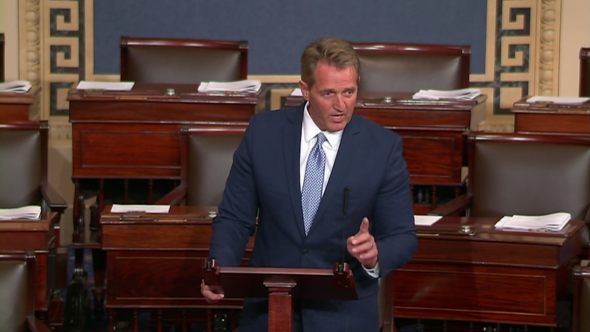 'I will not be complicit.' Jeff Flake's retirement speech, annotated