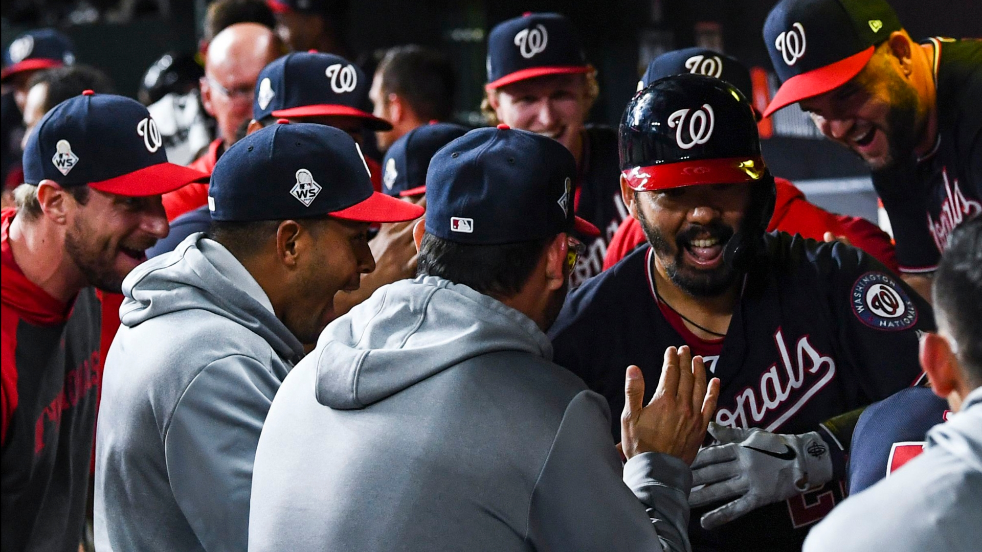 The Nationals are meeting the World Series moment, and the Astros are shrinking from it