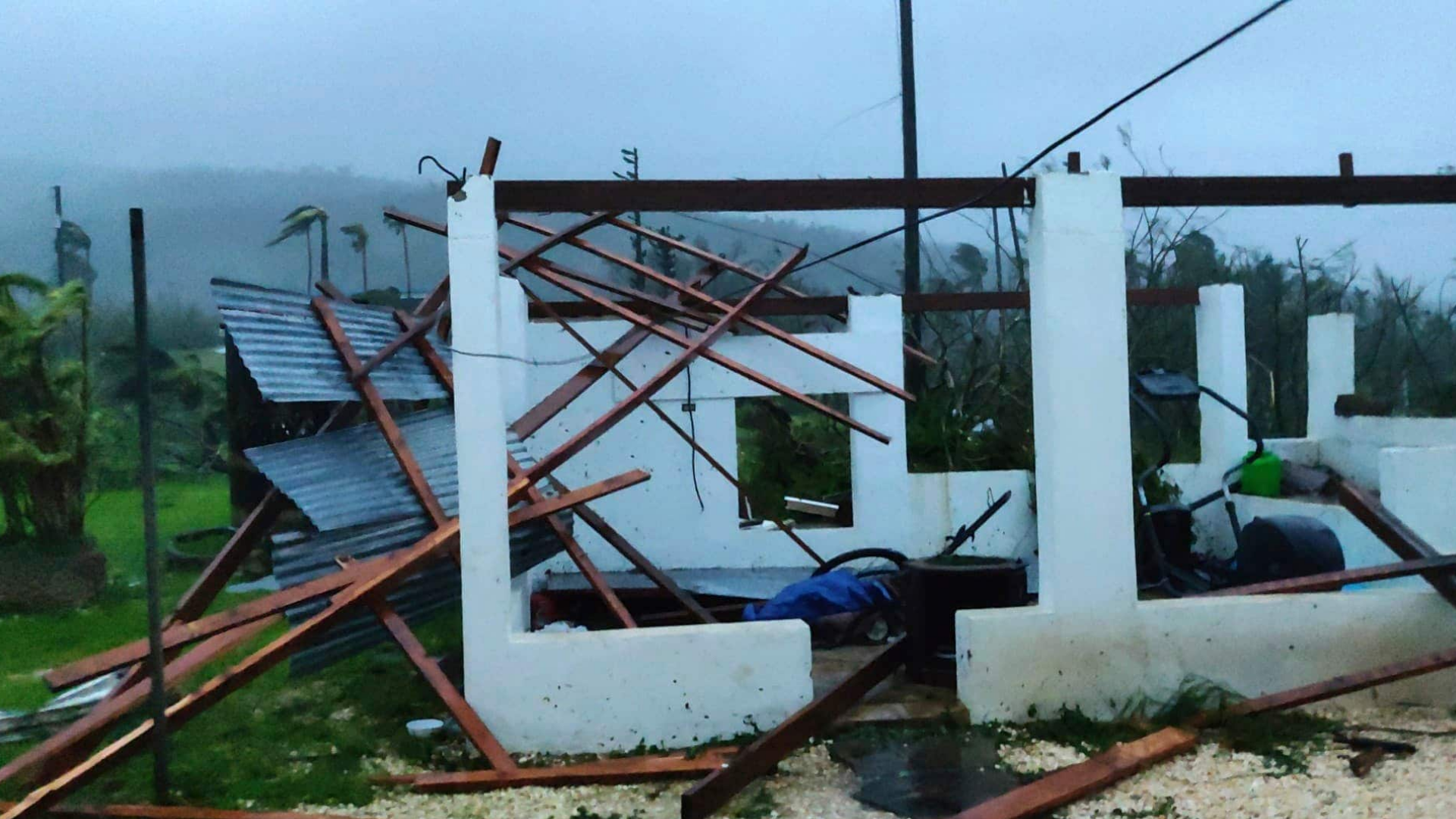 Extreme Category 5 typhoon, the worst U.S. storm since 1935, leaves Northern Mariana Islands devastated