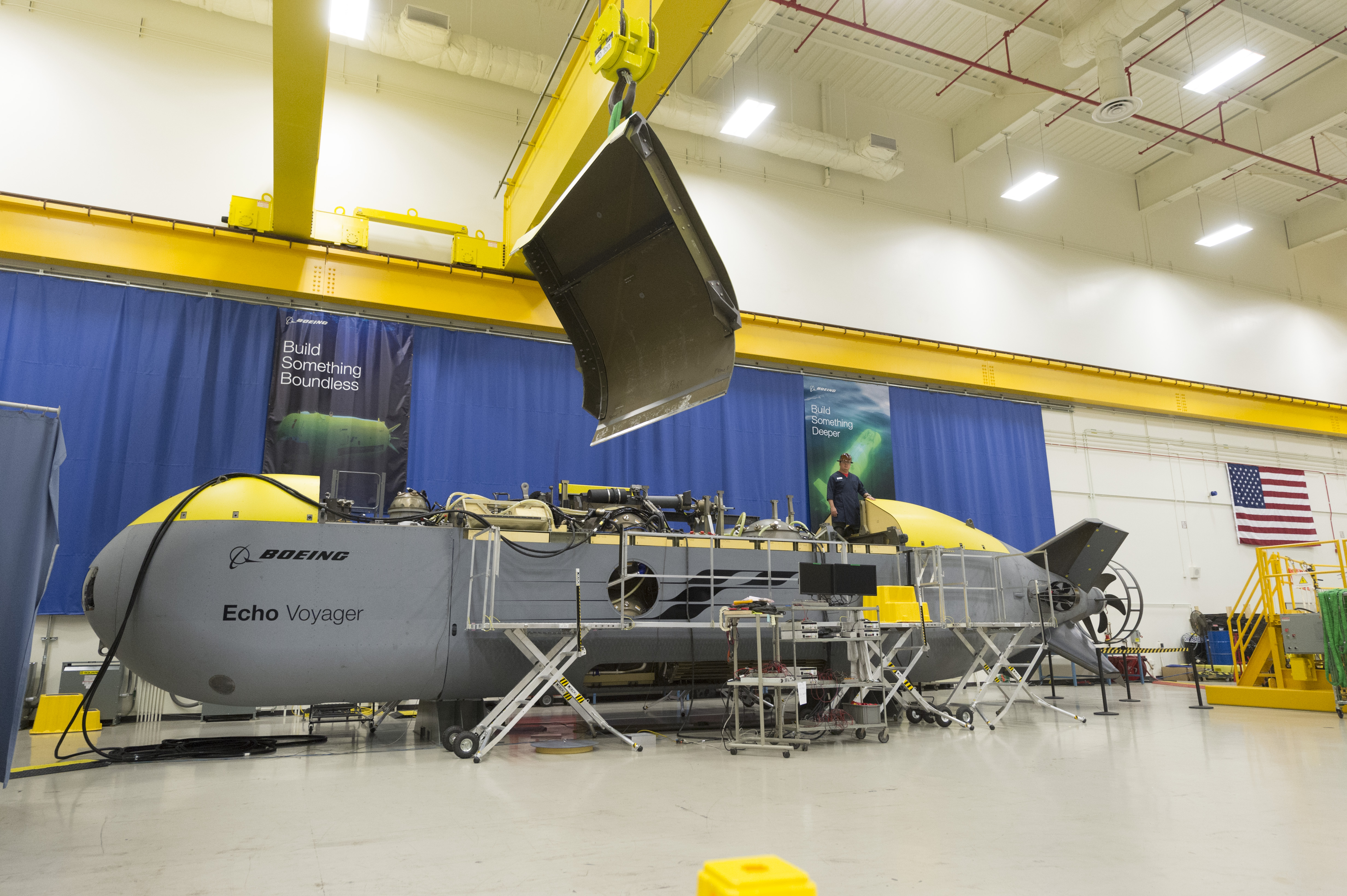 Drone warfare heads under the seas as U.S. seeks advantage over rivals