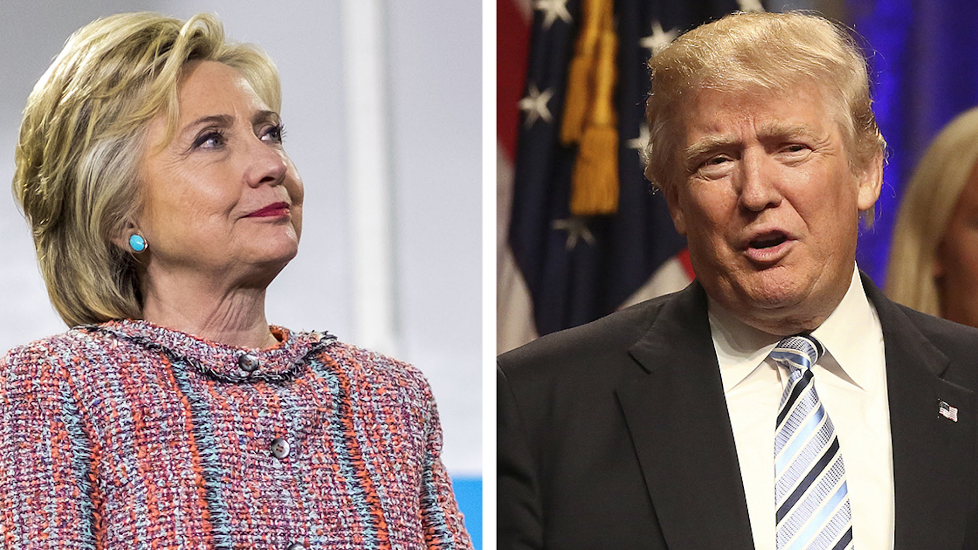 Clinton, Trump sprint across U.S. as campaigns react to dramatic development in email case