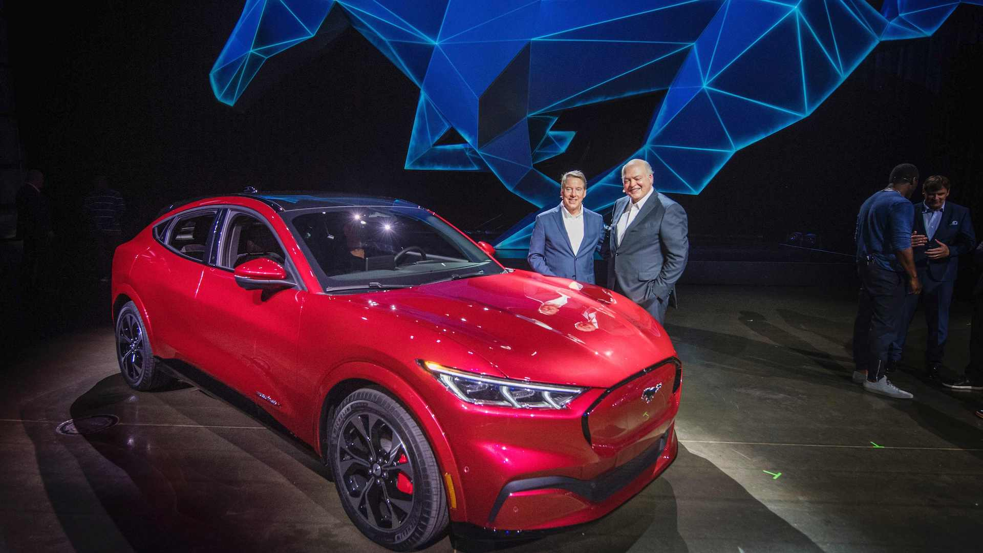 Ford Electric Car >> Ford Bets On Electric Mustang To Charge Turnaround