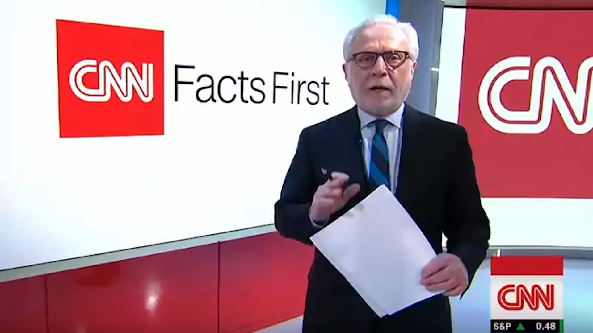 CNN stars Blitzer, Cooper, Amanpour and others fire back at Trump in day of rage