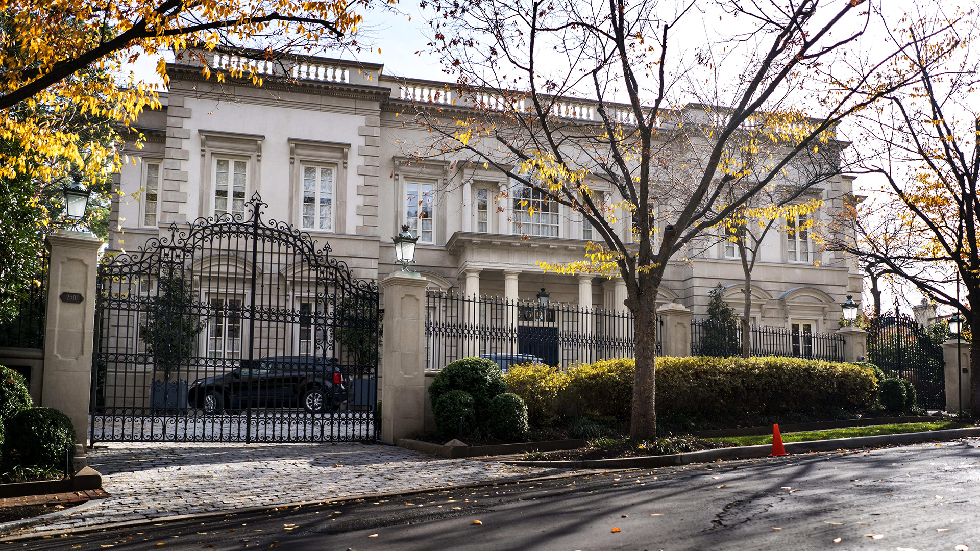 The Russian billionaire next door: Putin ally is tied to one of D.C.'s swankiest mansions