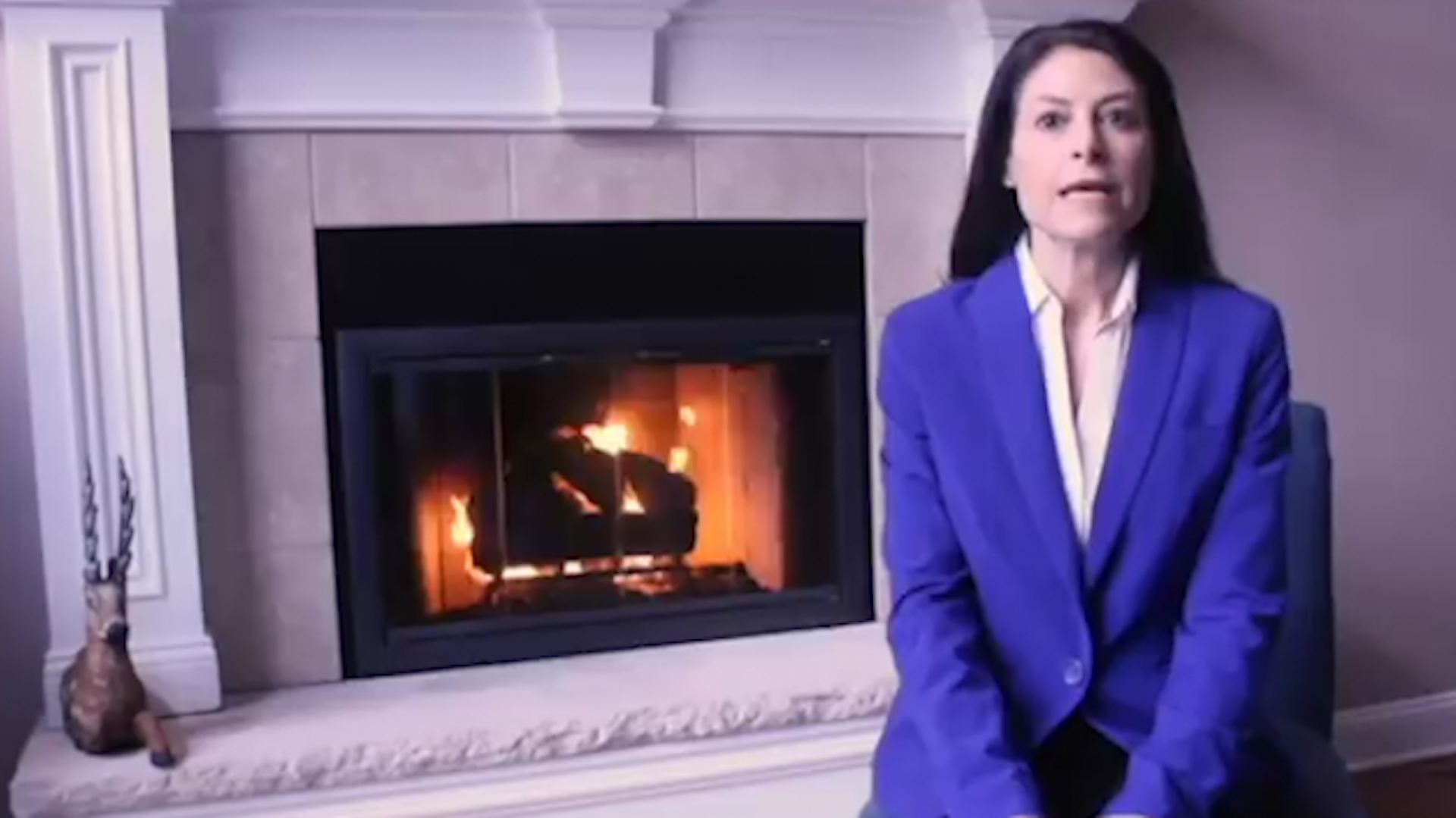 A woman's bold campaign ad points out the one thing she doesn't have
