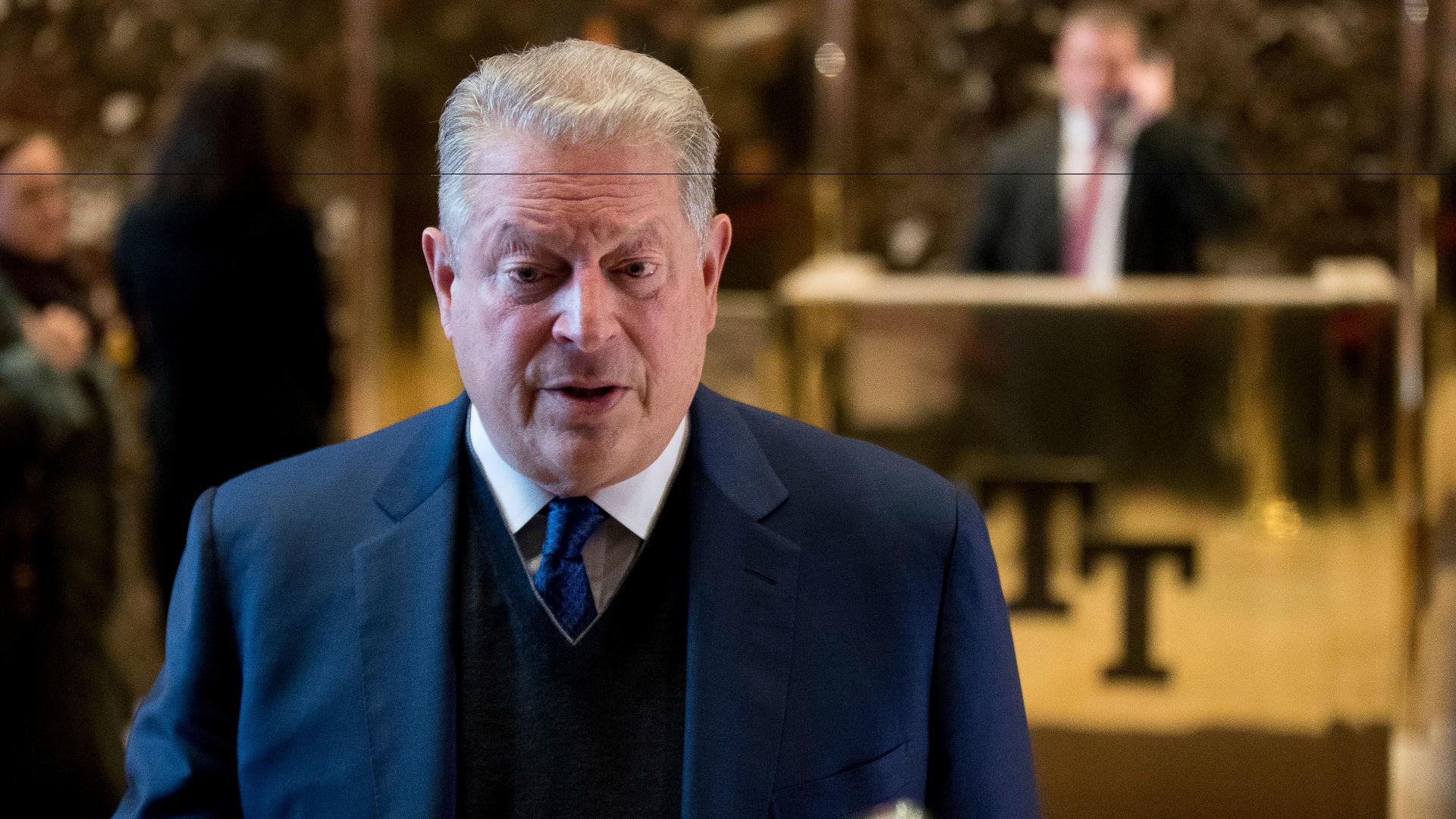 Al Gore Meets With Donald Trump The Washington Post