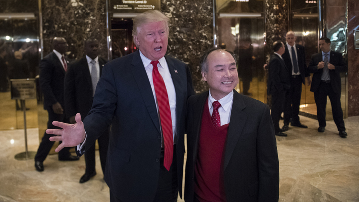 Trump announces Japanese corporate giant is investing $50 billion in the U.S.