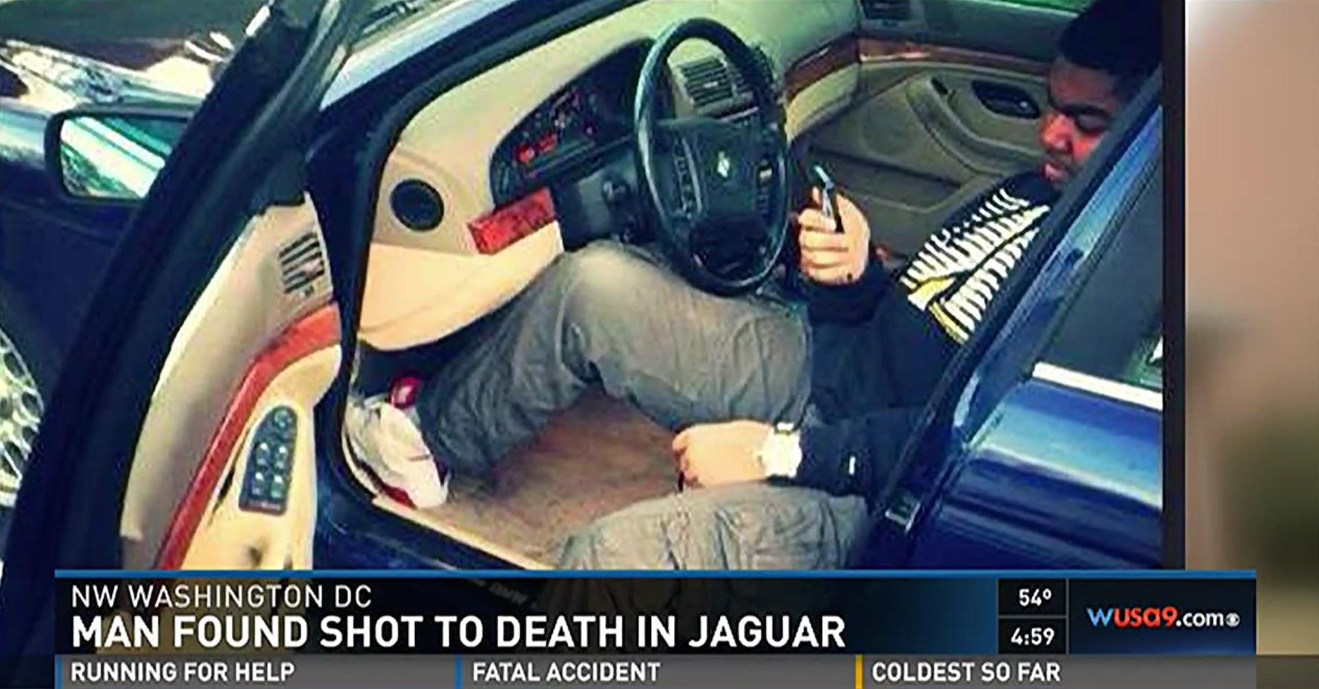 Man shot and killed inside his Jaguar in Northwest Washington - The