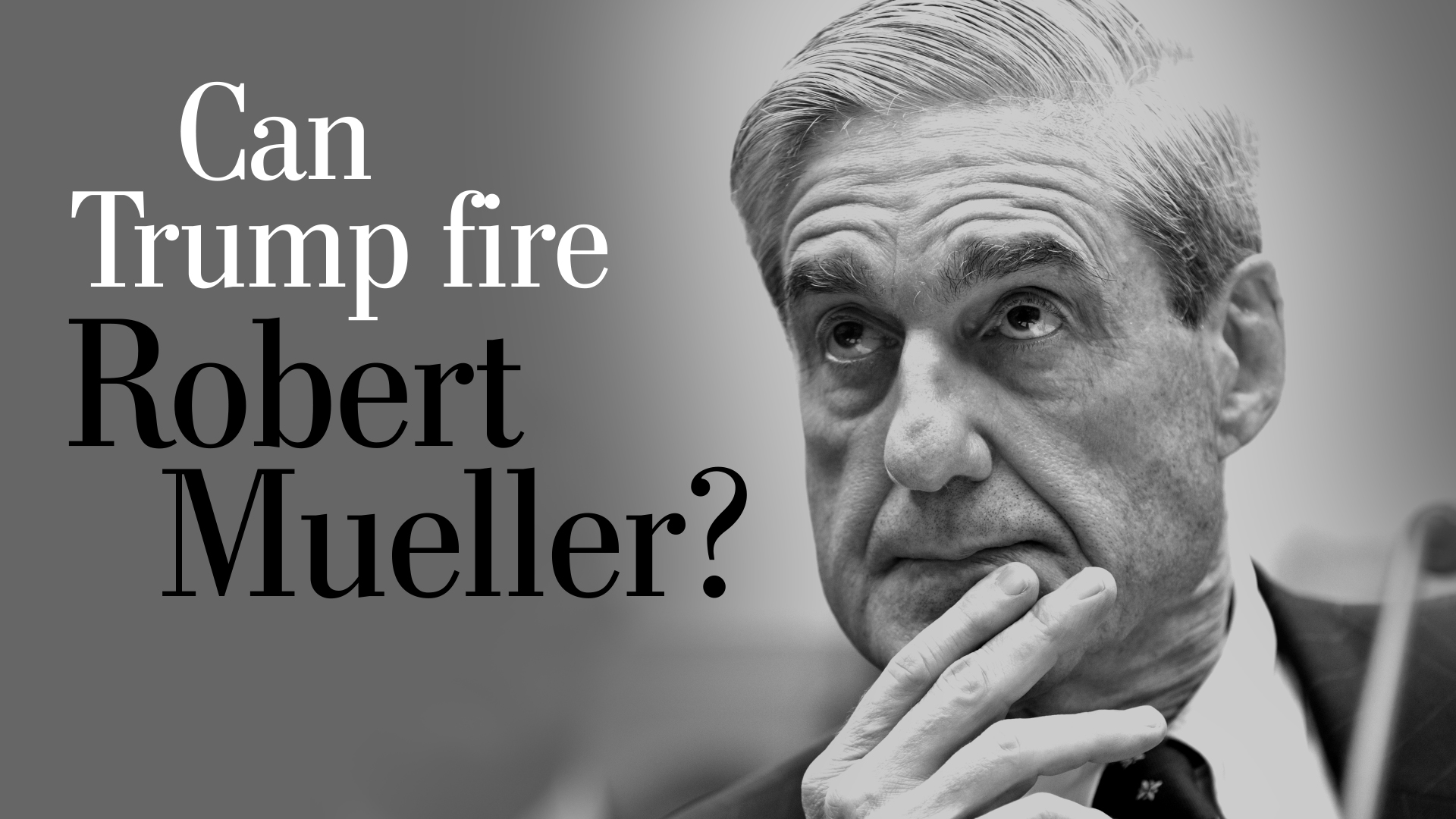 The Trump team's chilling message to Mueller