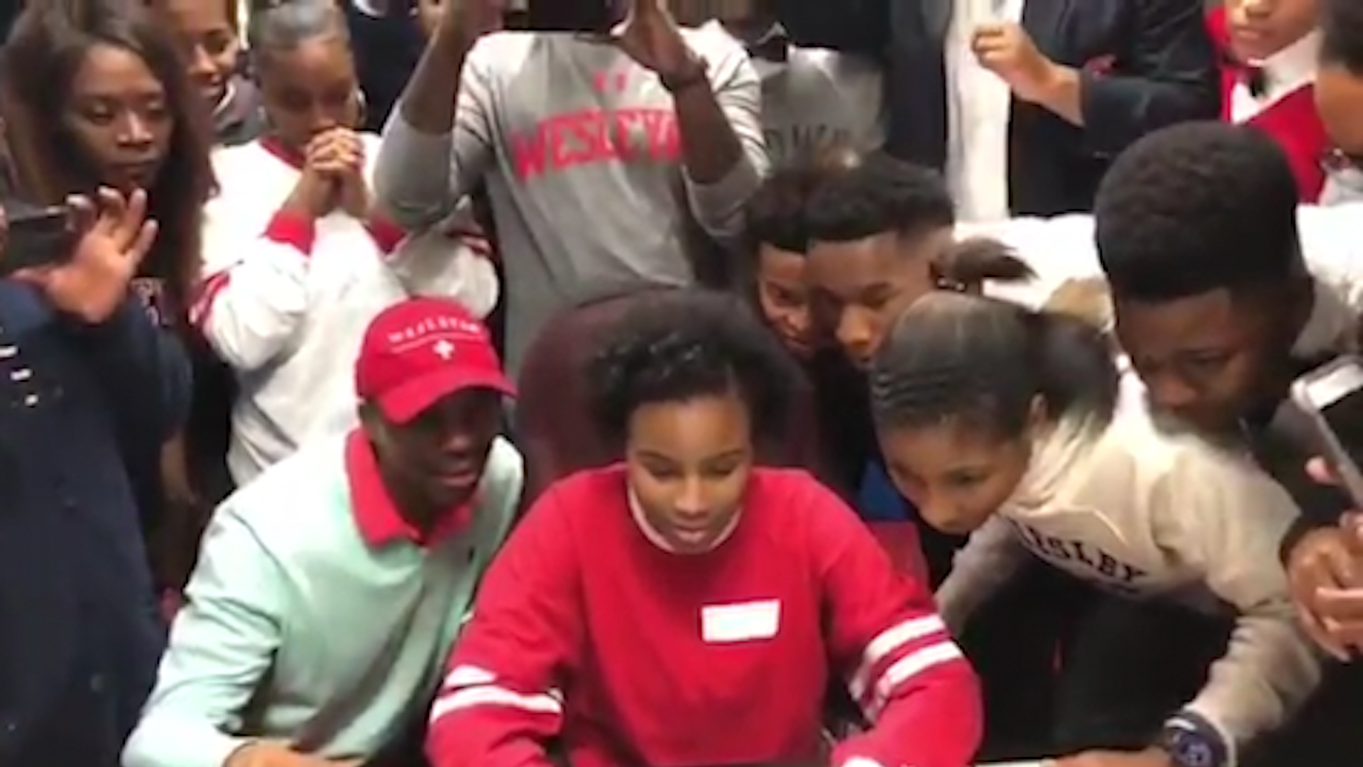 This video of jubilant students at a small-town Louisiana school inspired millions. Here's why.