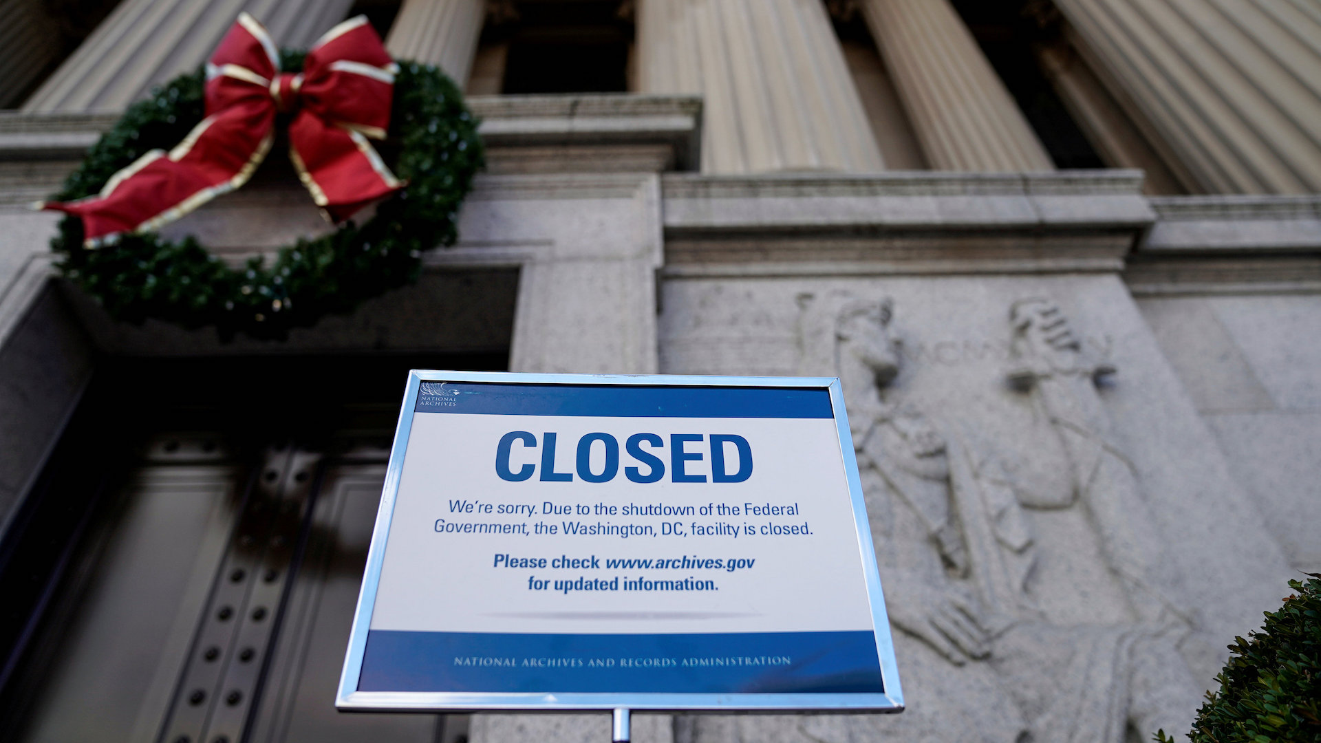 Why the government shutdown means 'justice is being put on