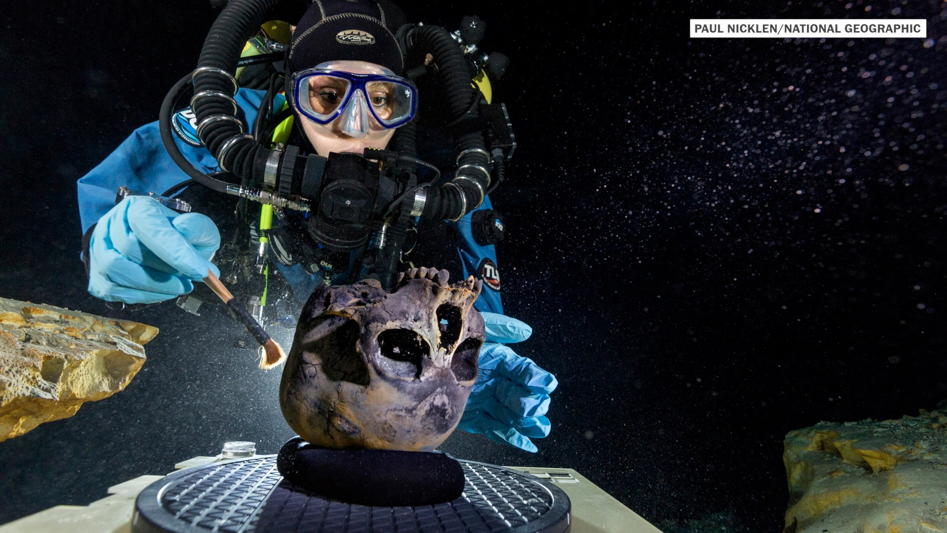 Girl's 12,000-year-old skeleton may solve a mystery