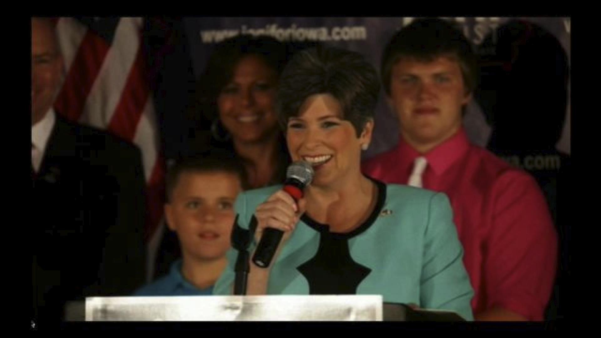 Joni Ernst, trumpeting 'the Iowa way,' shakes up her state
