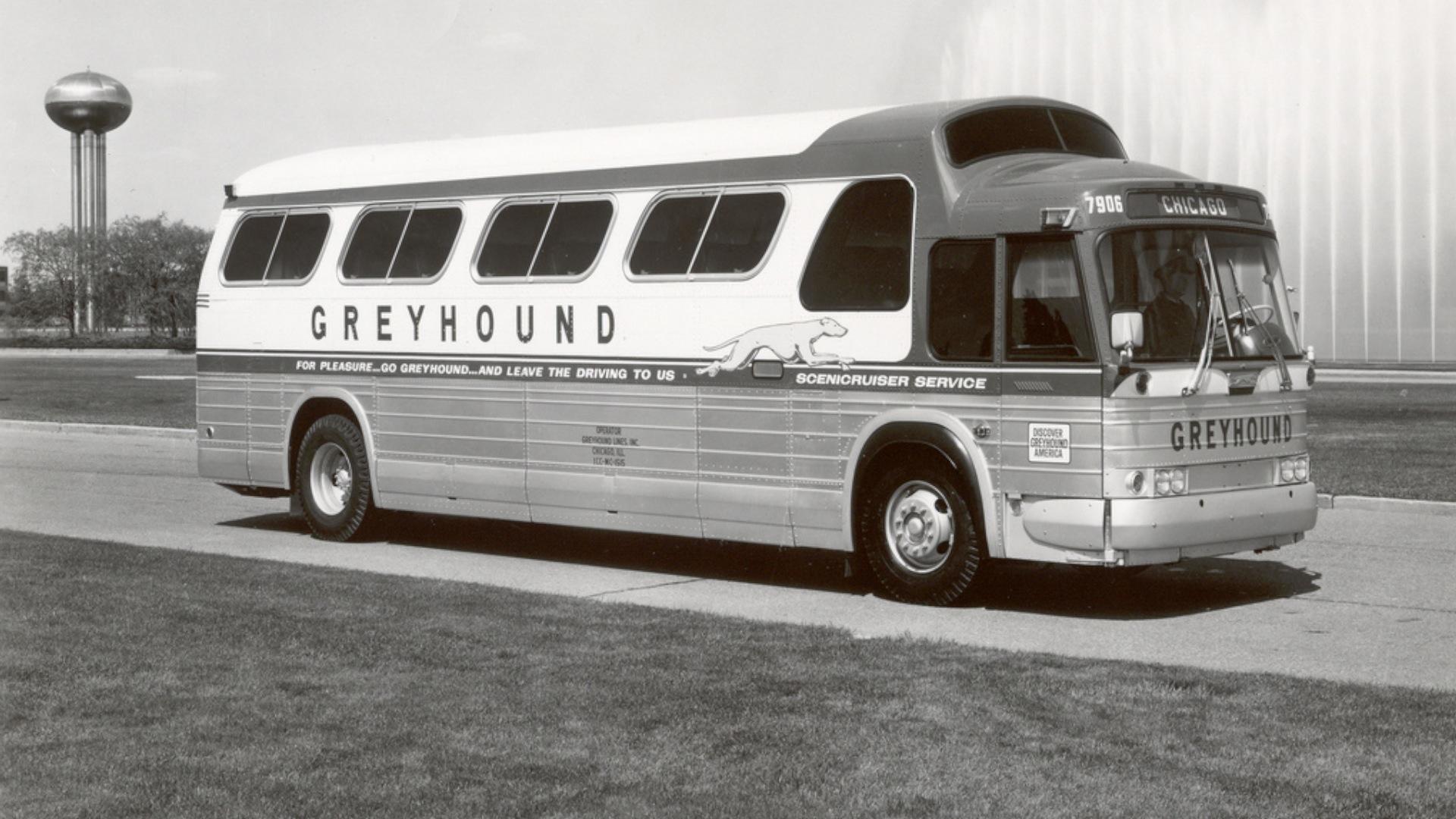 Greyhound bus turns 100