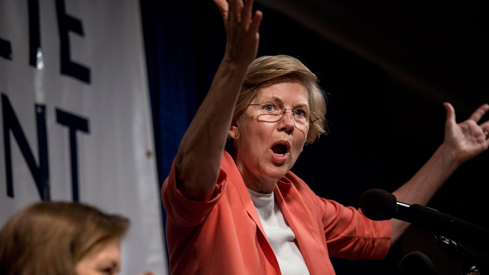 Progressives turn from Obama to embrace Warren