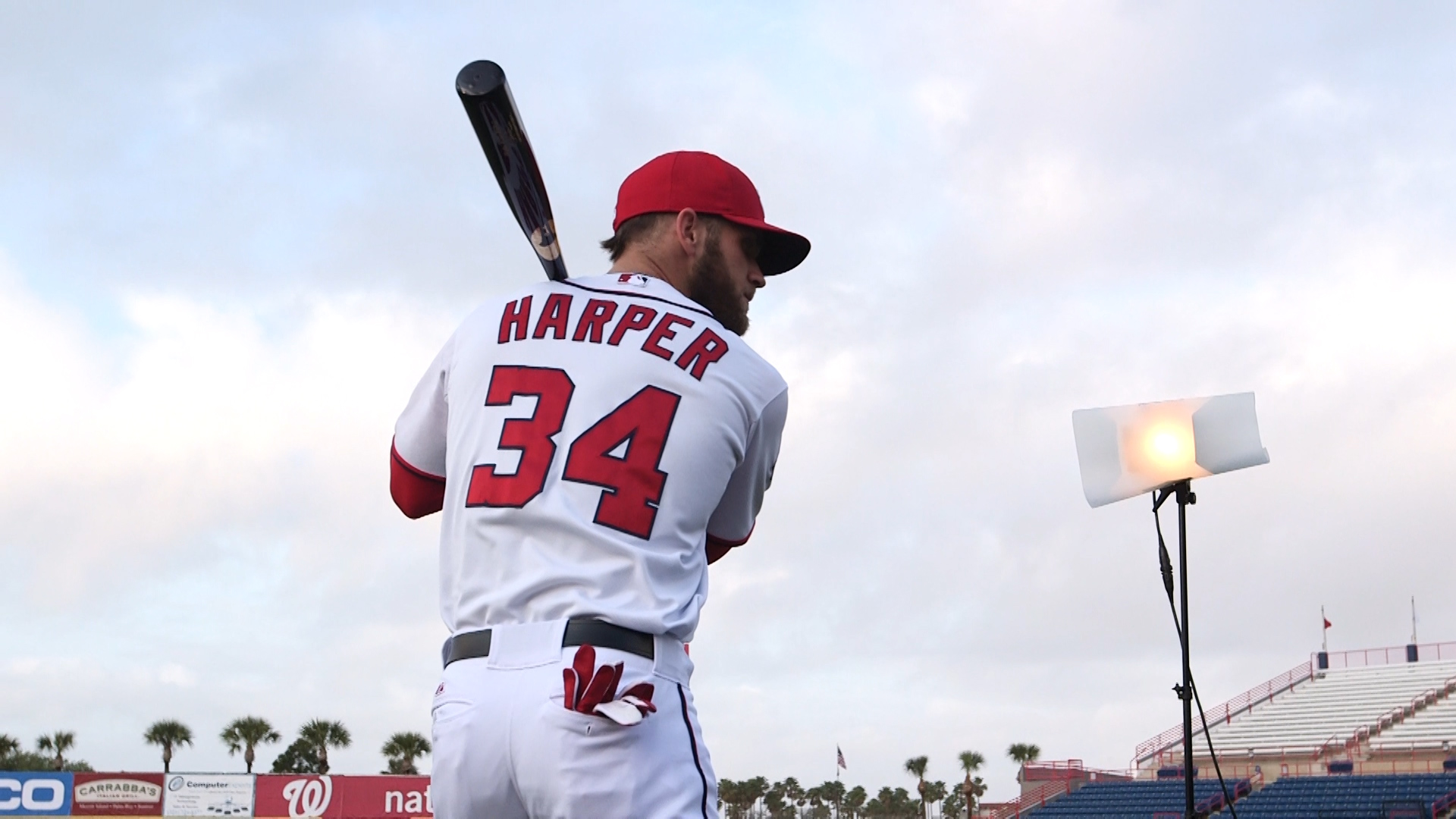 Bryce Harper Embraces High Expectations