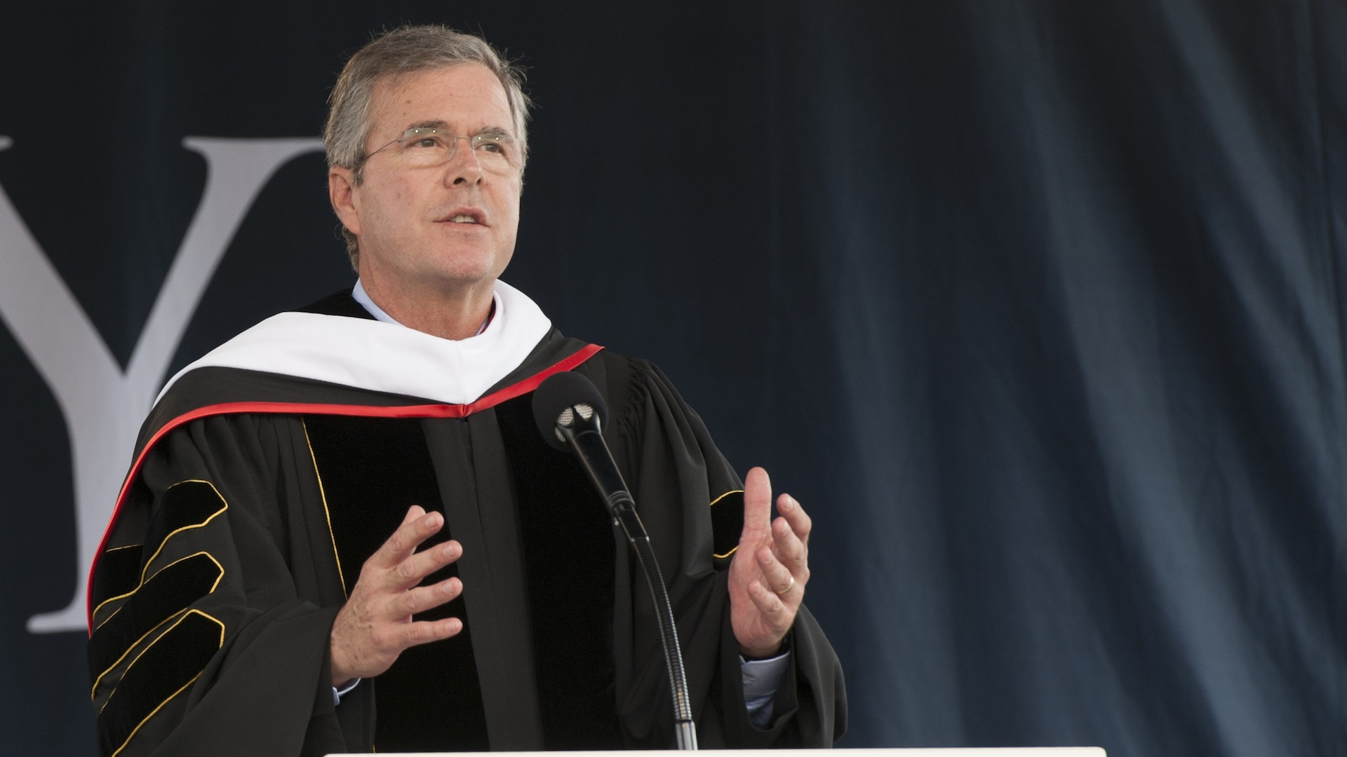 Jeb Bush's eloquent defense of Christianity