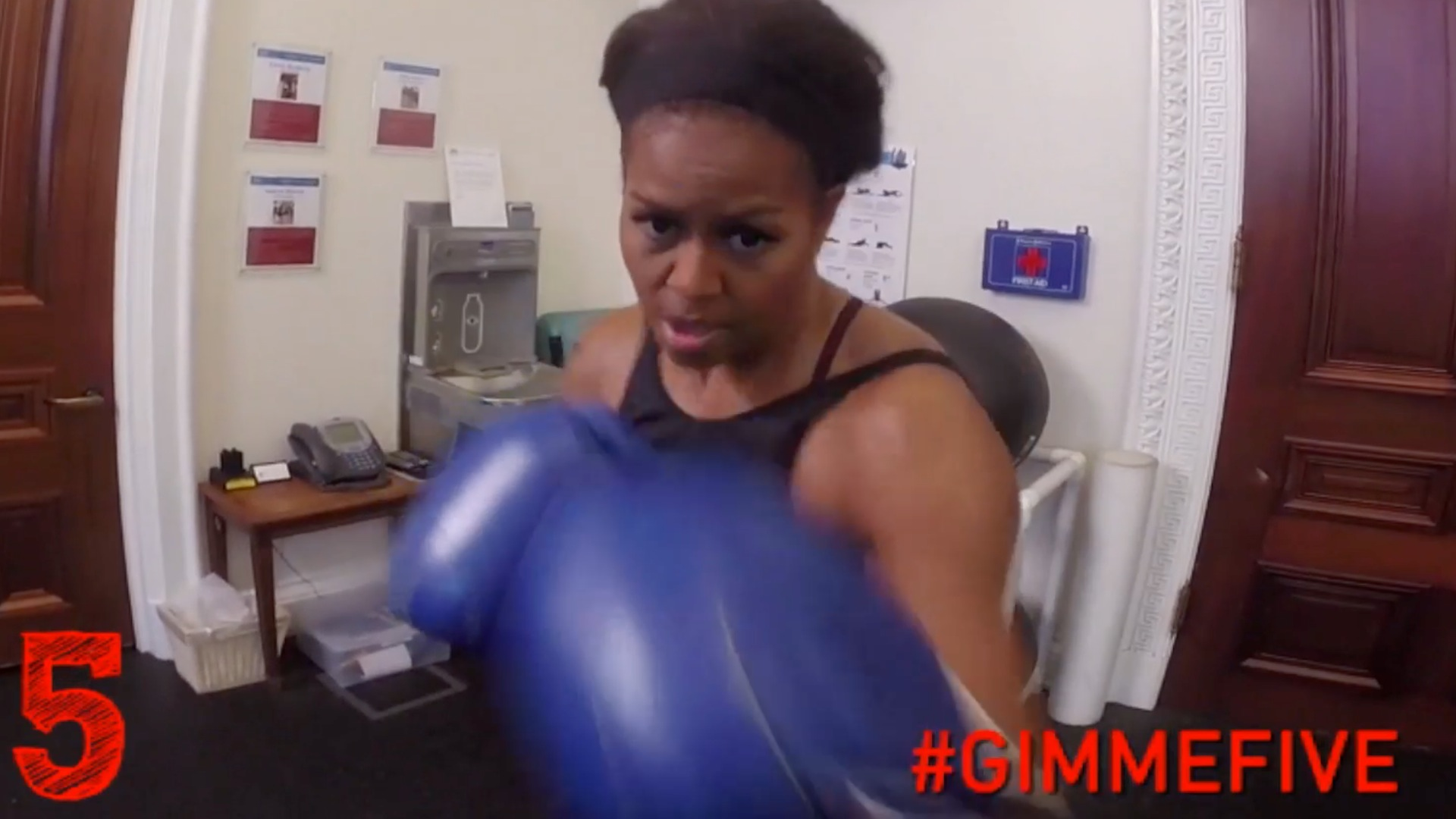 Seeing the Michelle Obama workout video, I finally get it