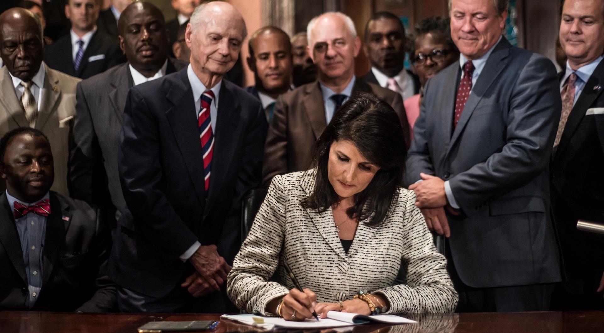 South Carolina's losing battle to rewrite its racist history