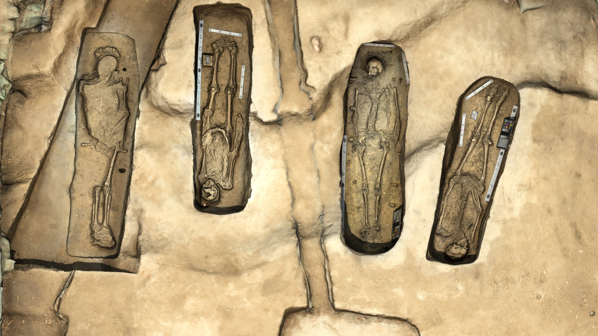 Jamestown excavation unearths four bodies — and a mystery in a small box