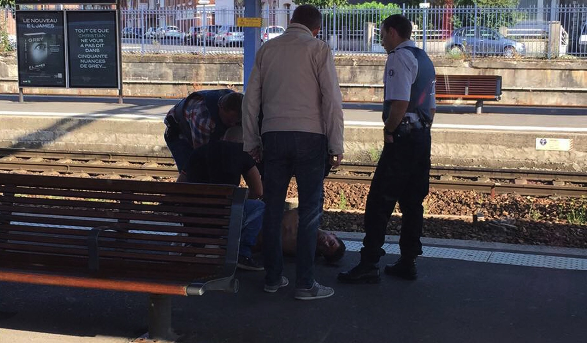 Train suspect had been flagged as potential risk