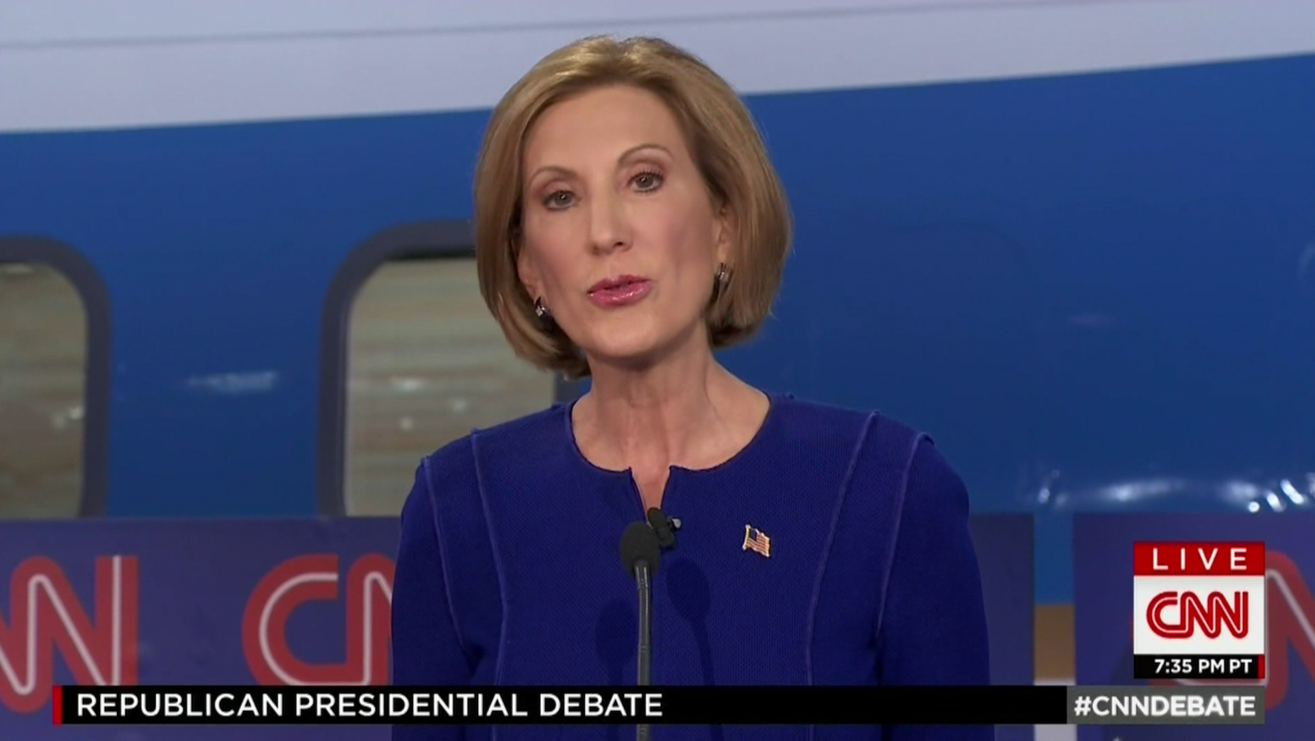 Carly Fiorina: 'Drug addiction shouldn't be criminalized.'
