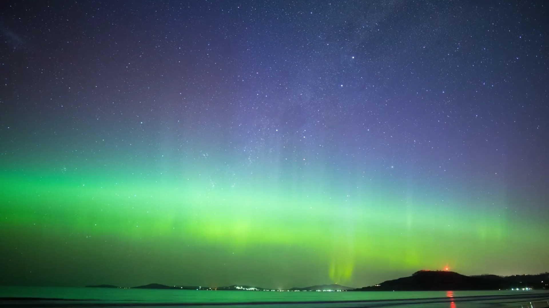 Stunning images of the Northern Lights as two space weather phenomena coincide