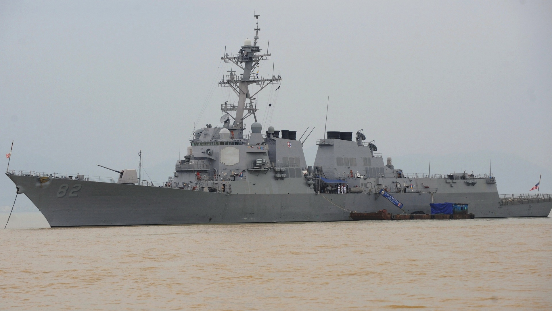 China says U.S. naval destroyer sailing close to Chinese-built island damages peace and stability