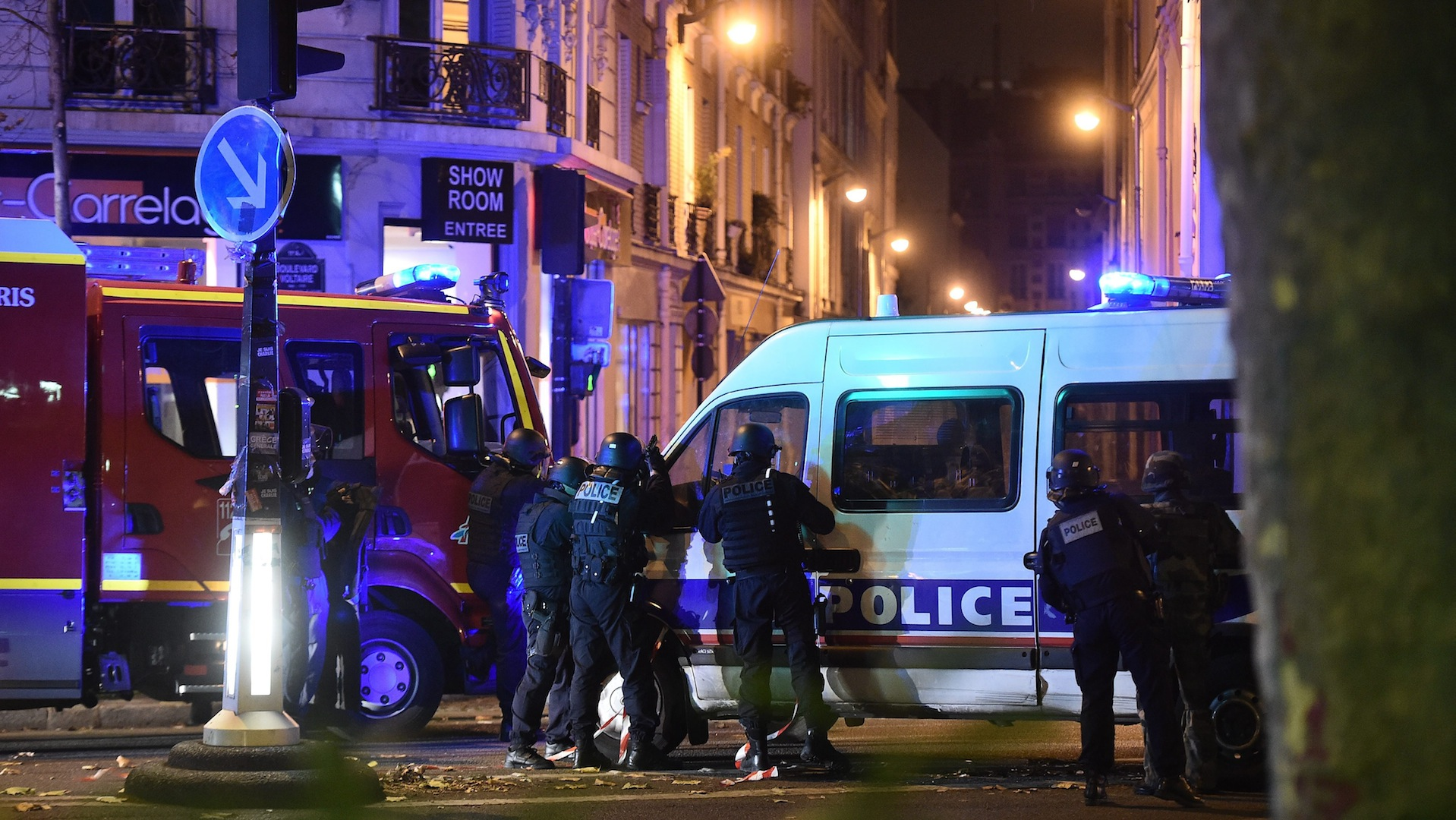 In Paris, a soccer game, an Asian dinner, a concert — and then terror