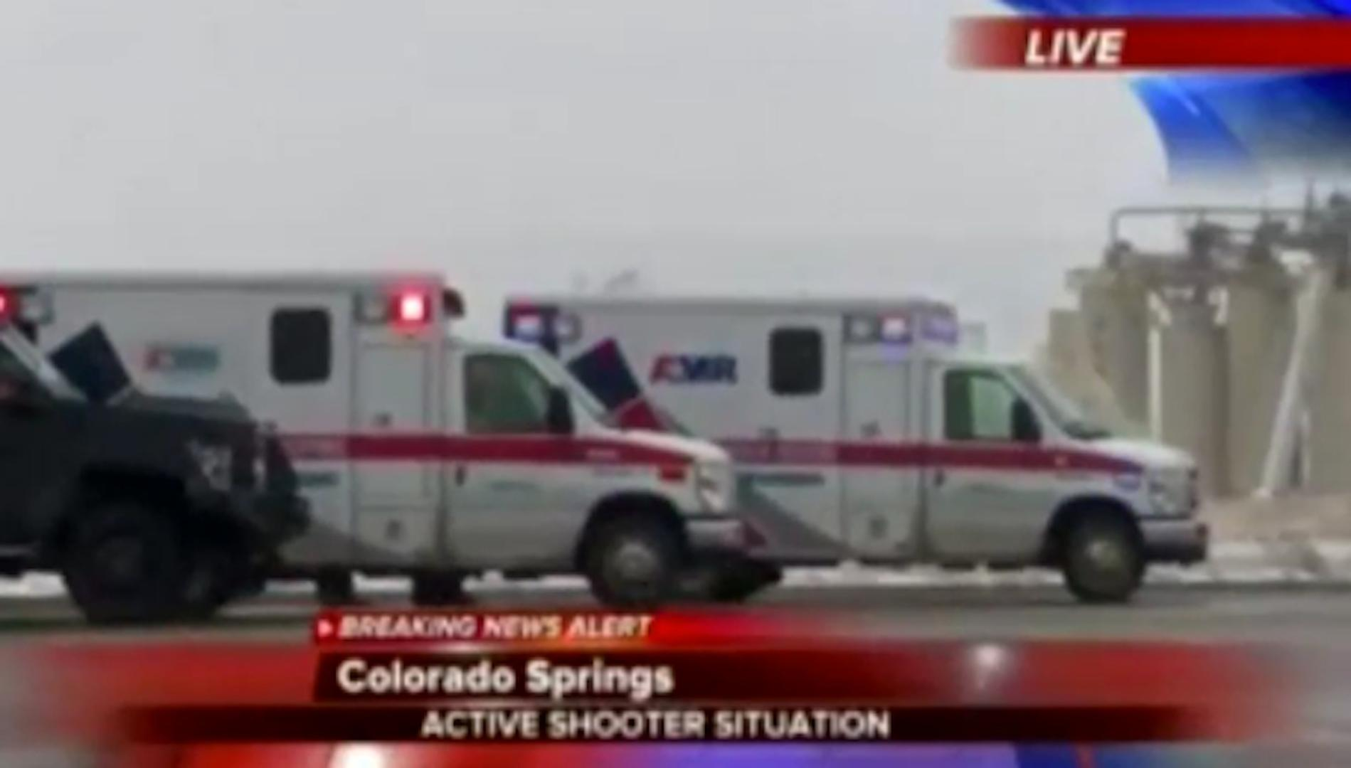 Officers injured in 'active shooter situation' at Planned Parenthood in  Colorado