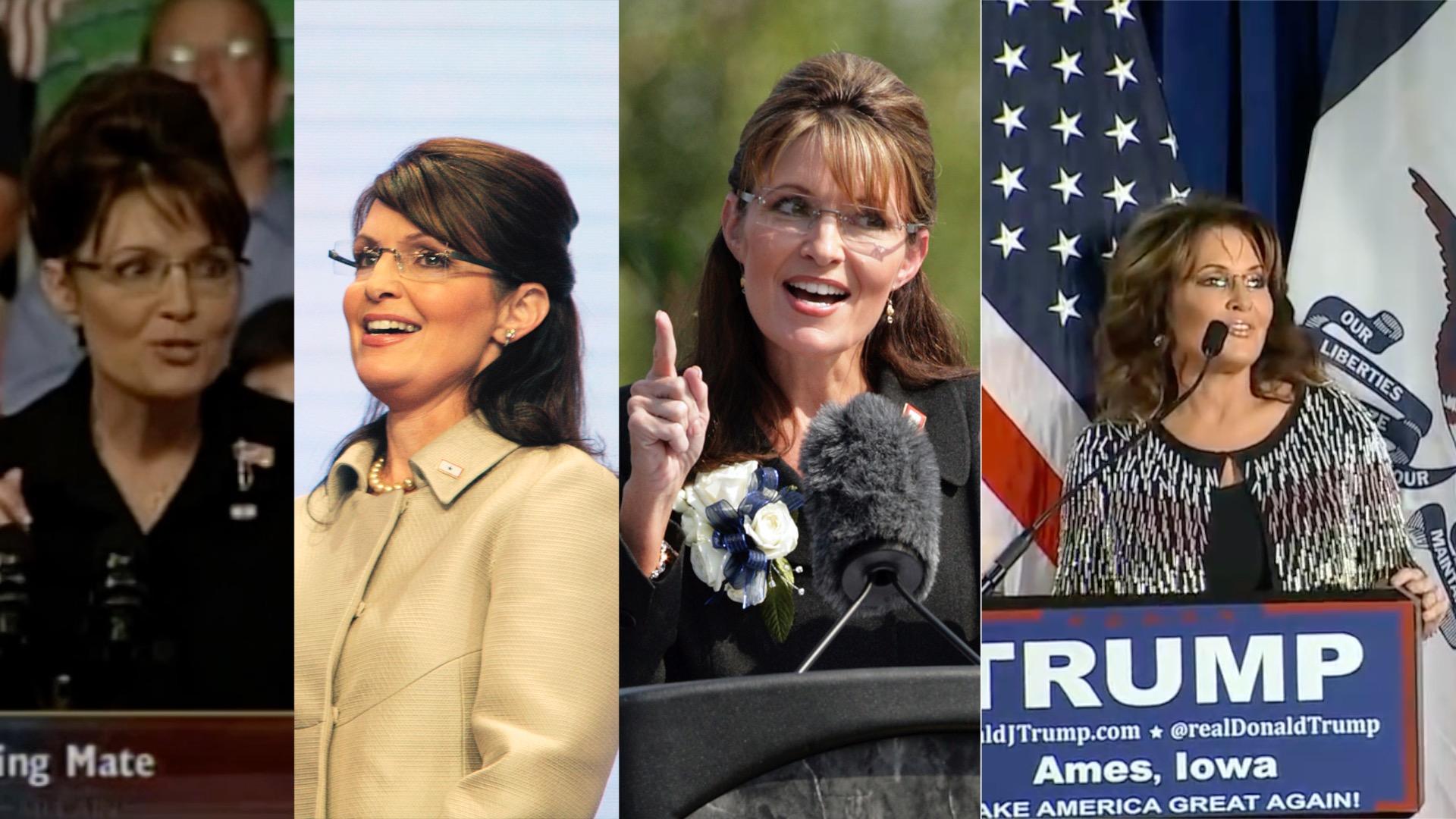 Sarah Palin, the political mother of Trump
