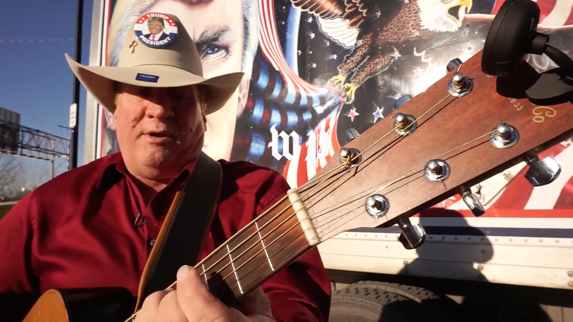 'Trump Troubadour,' who attended 45 Trump rallies to honor his late son, feels 'betrayed' because of health care