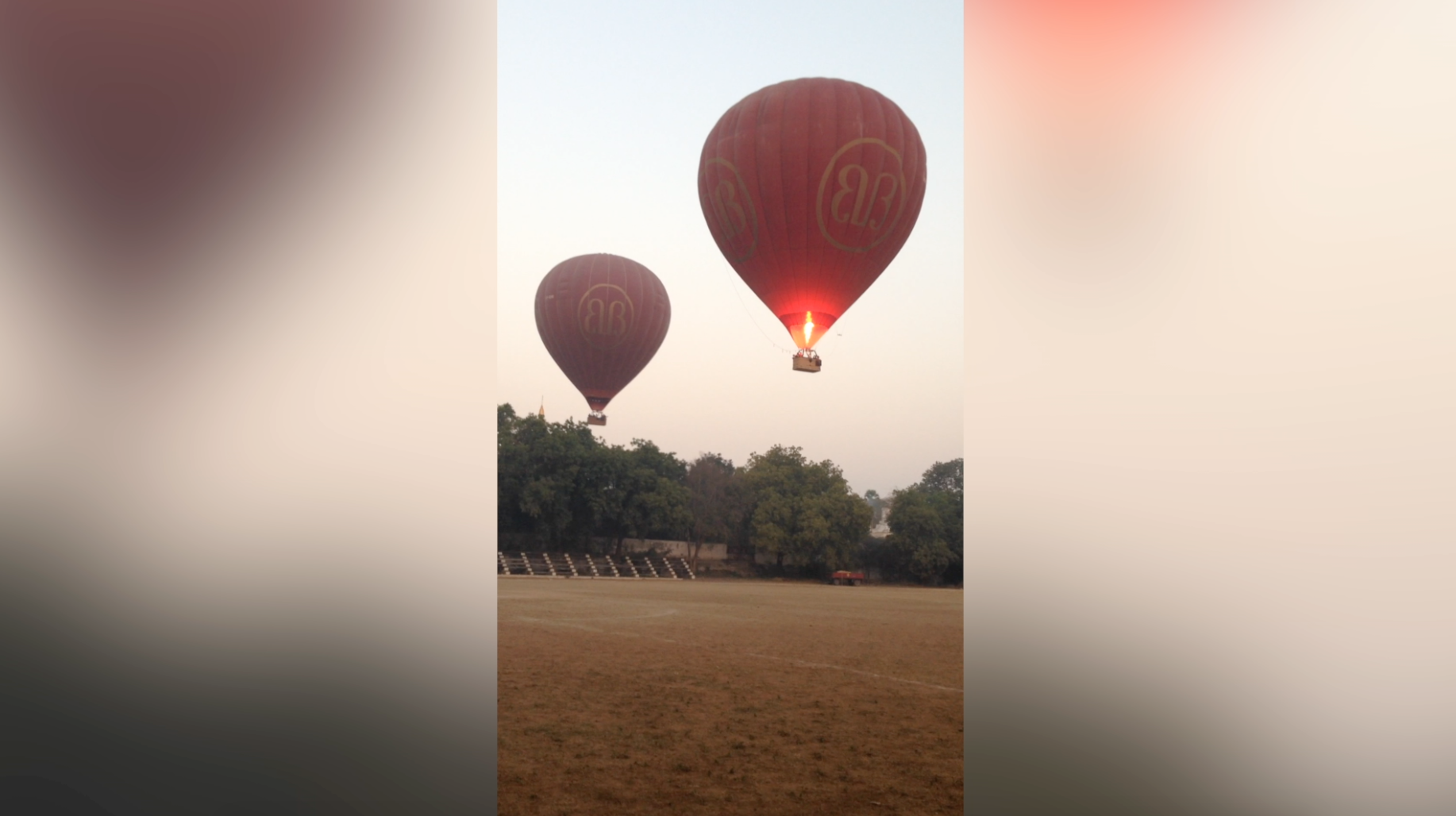 The best way to see thousands of temples in central Burma: Hot-air balloon
