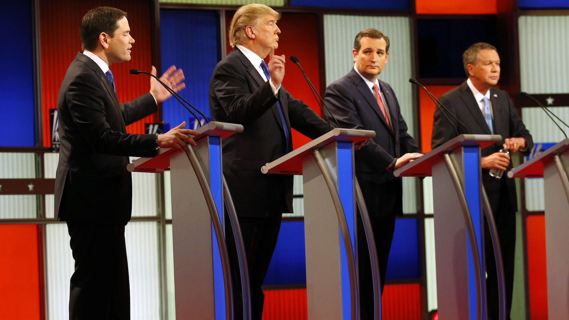 gop candidates pledge to support whoever is the nominee even