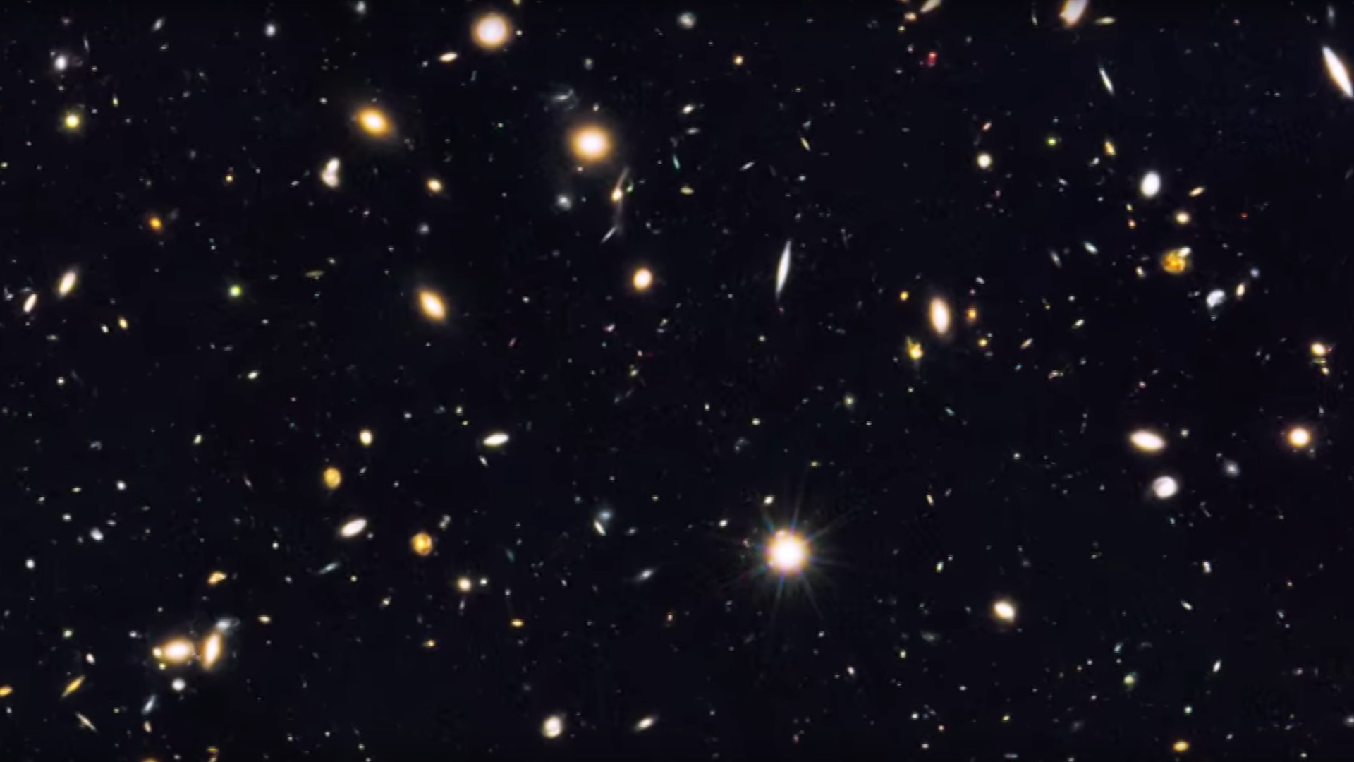 Astronomers just saw farther back in time than they ever have before