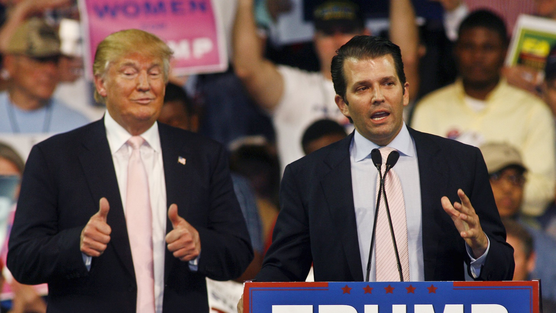 Donald Trump Jr. stumbles out of father's shadow and into the spotlight with white nationalist interview
