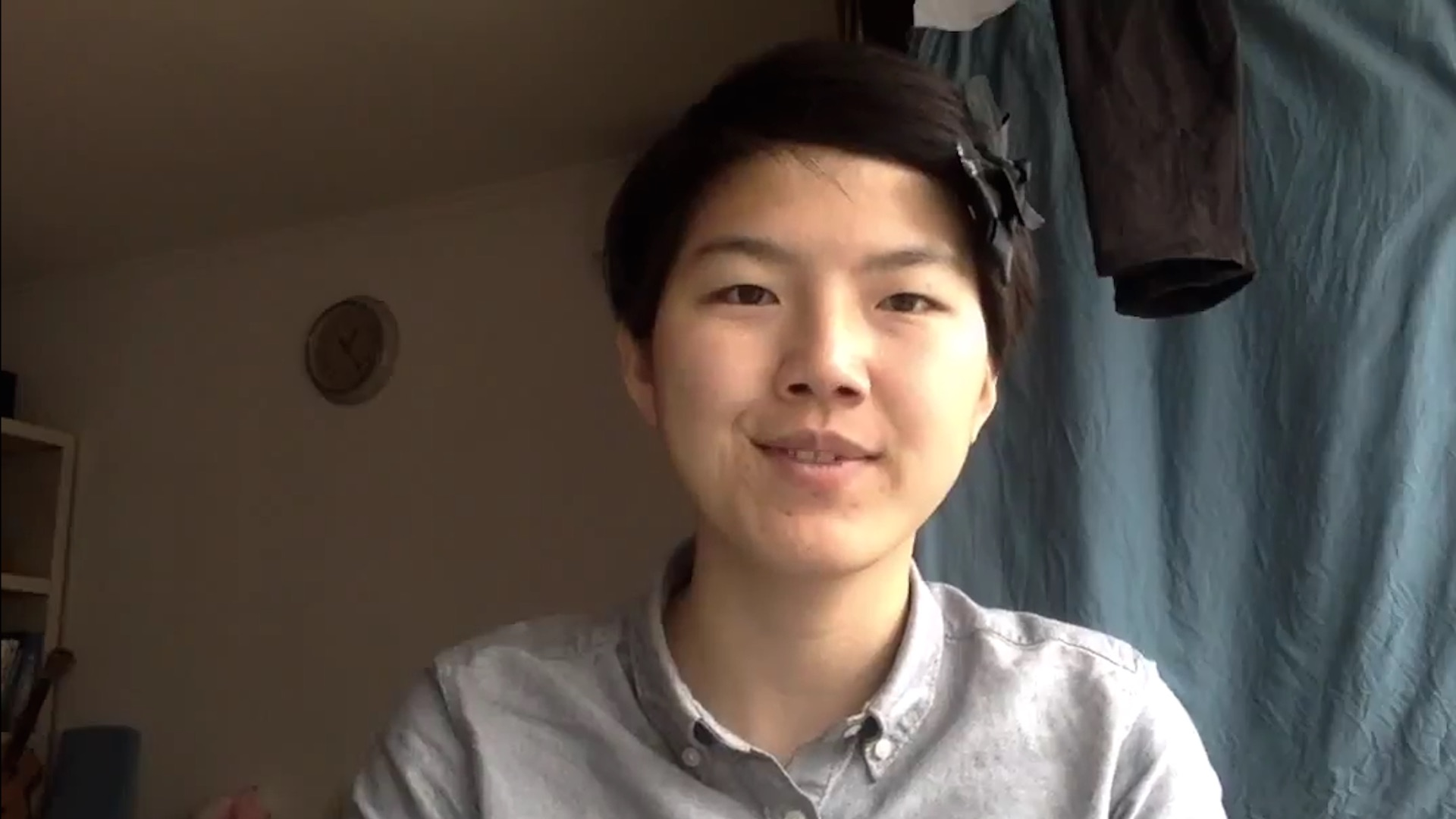 Watch: A Chinese feminist's defiant message to the government that jailed her