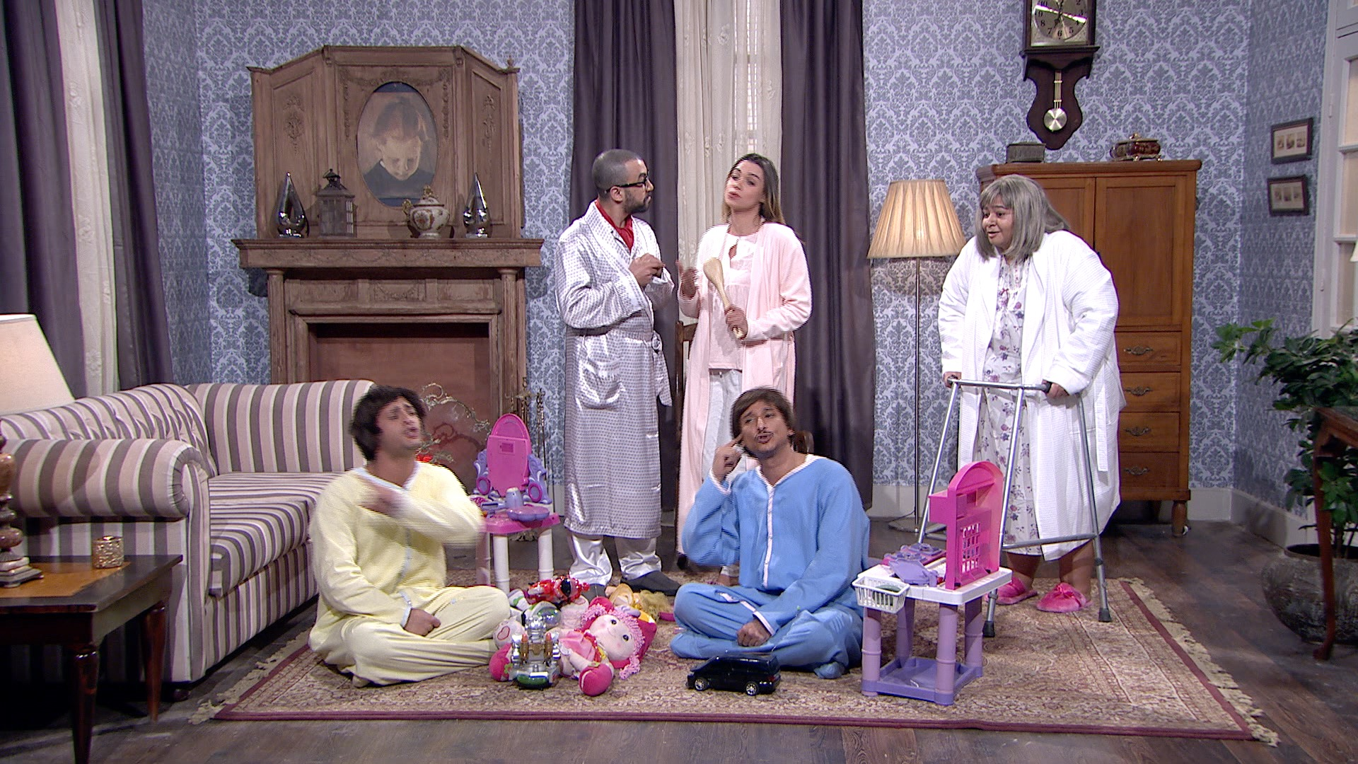 From Cairo, 'It's Saturday Night Live!' — without politics, sex or religion
