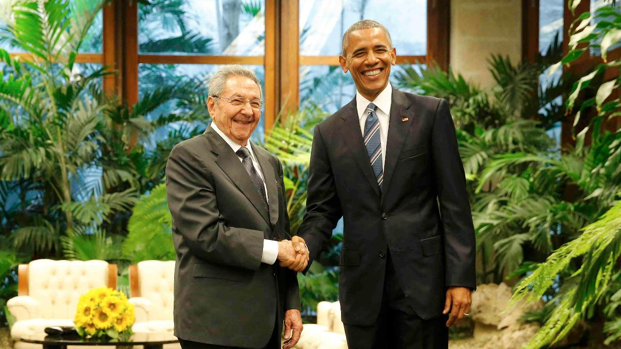 Raúl Castro, Obama spar on human rights, Guantanamo, views of U.S. and Cuba