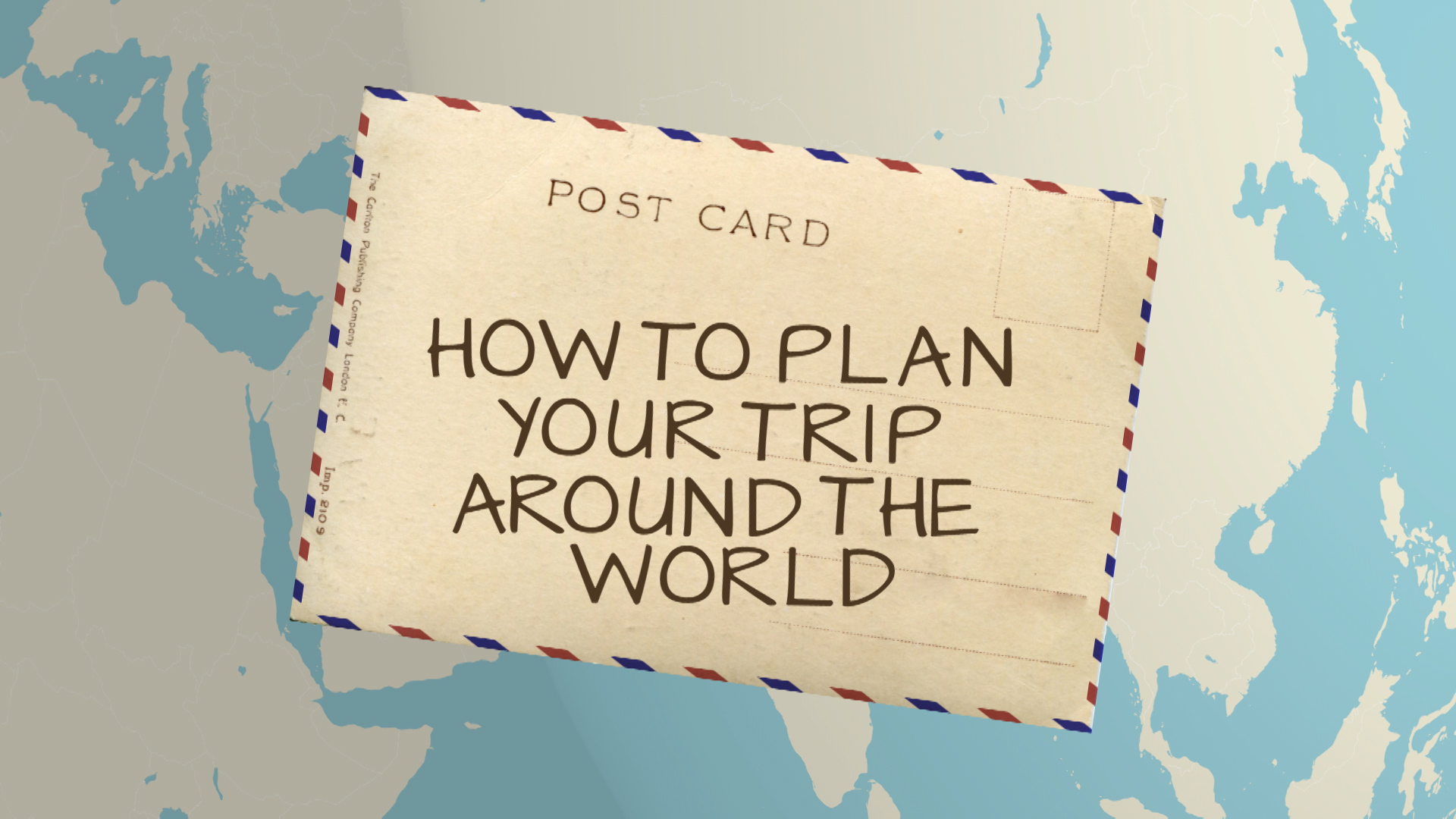How to travel around the world in two carry-ons. (Sort of.)