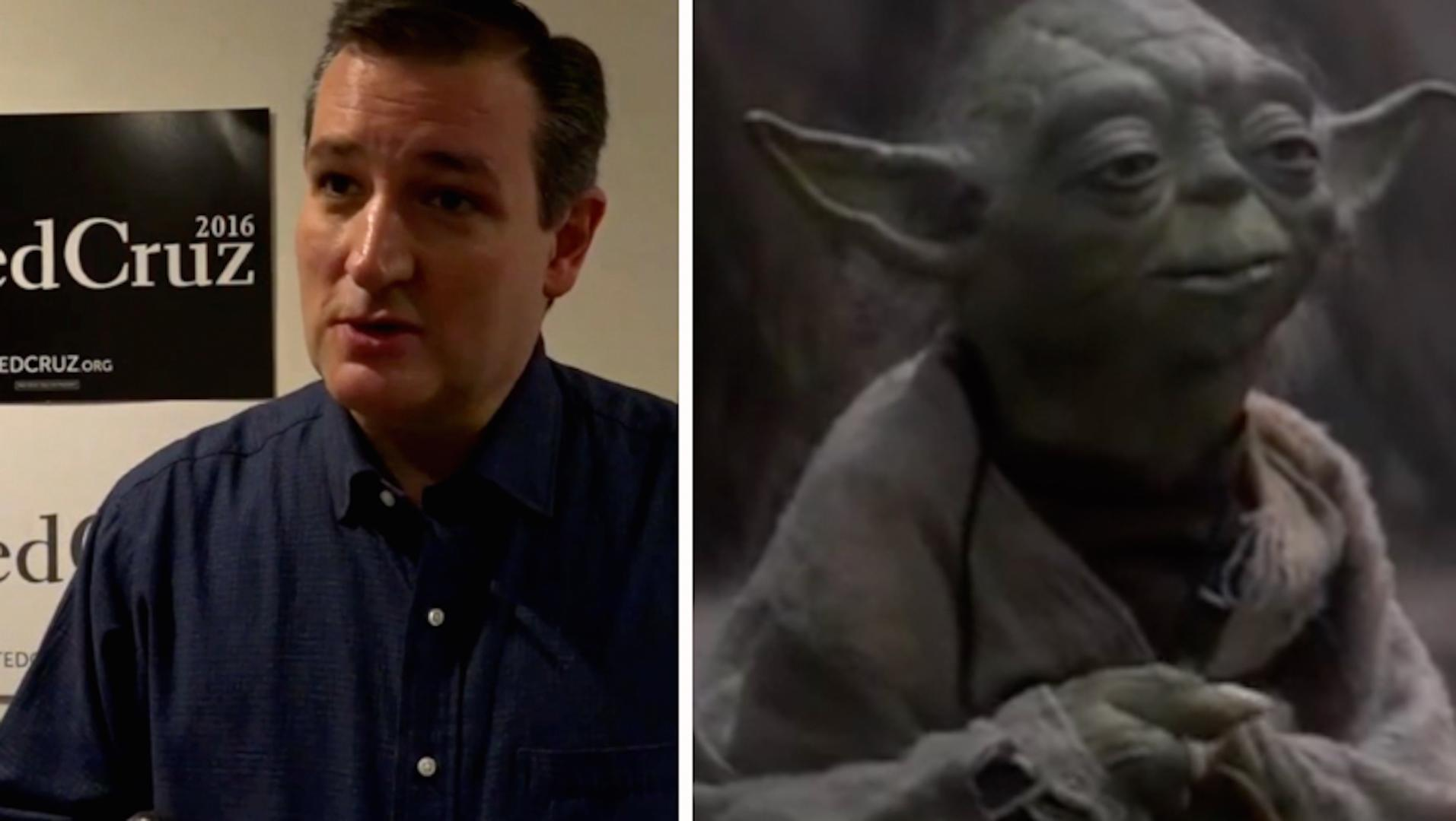 Ted Cruz's weirdest pop culture references, from 'Star Wars' to 'The Simpsons'