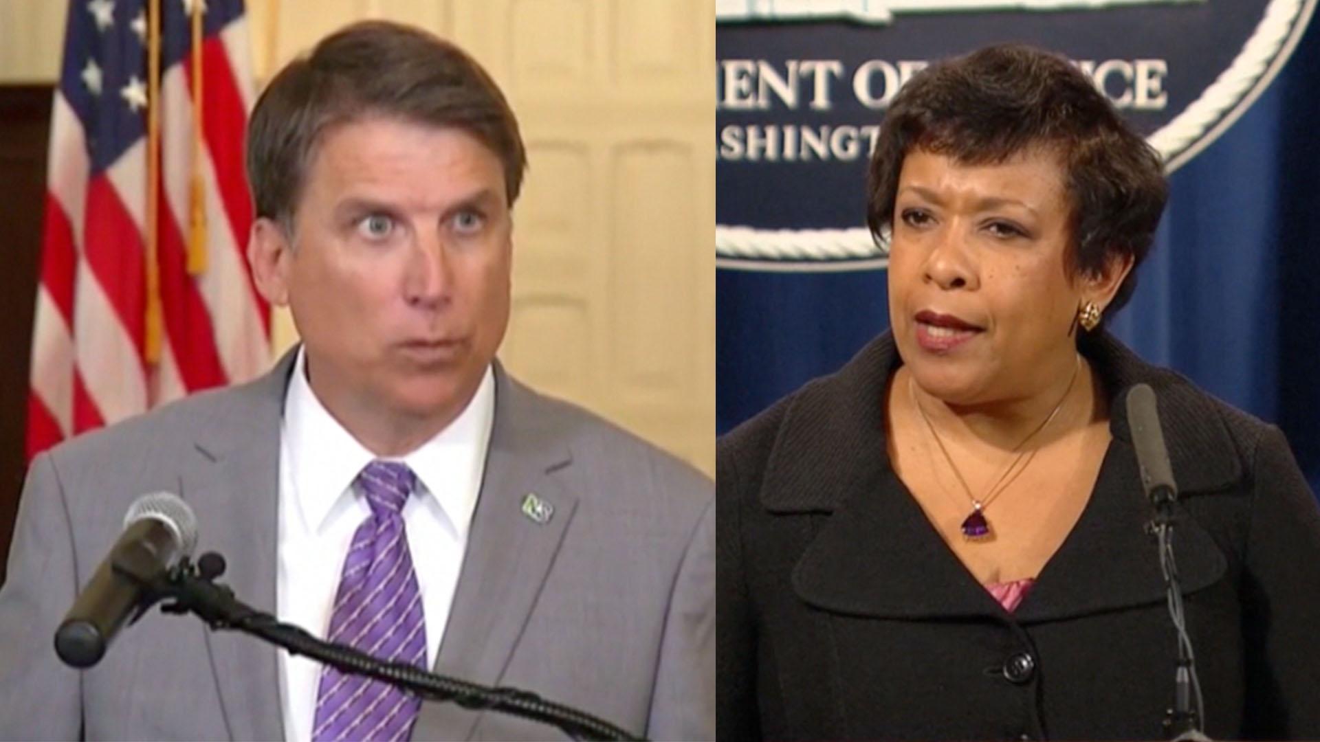 North Carolina, Justice Dept. file dueling lawsuits over transgender rights